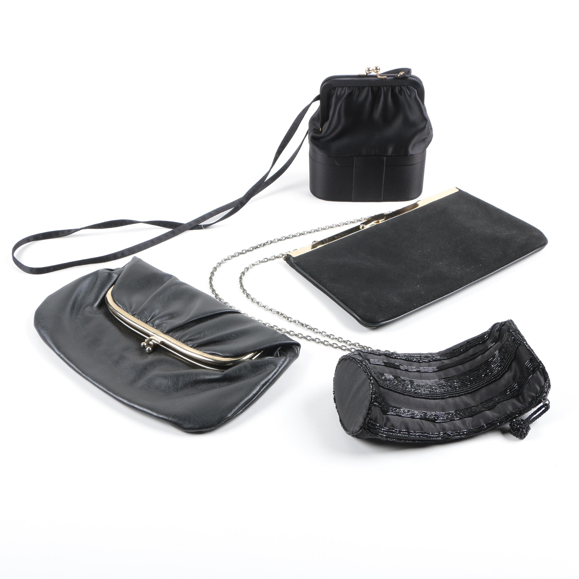 Women's Vintage Black Occasion Handbags