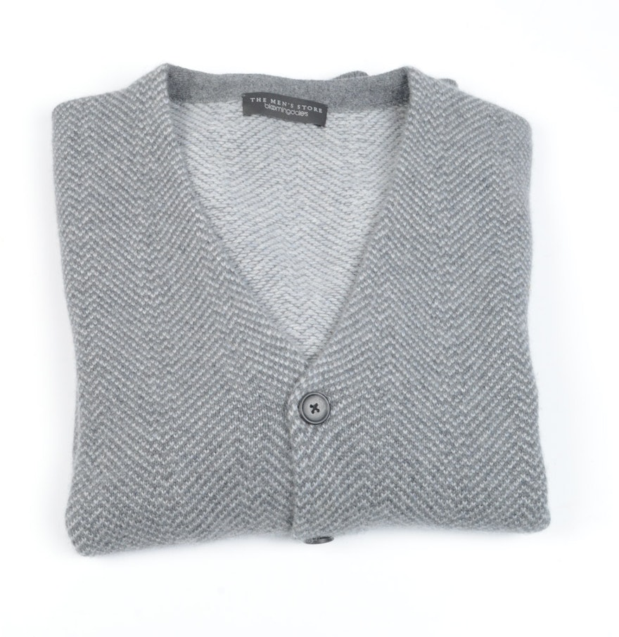 The Men's Store by Bloomingdale's Cashmere Blend Cardigan : EBTH