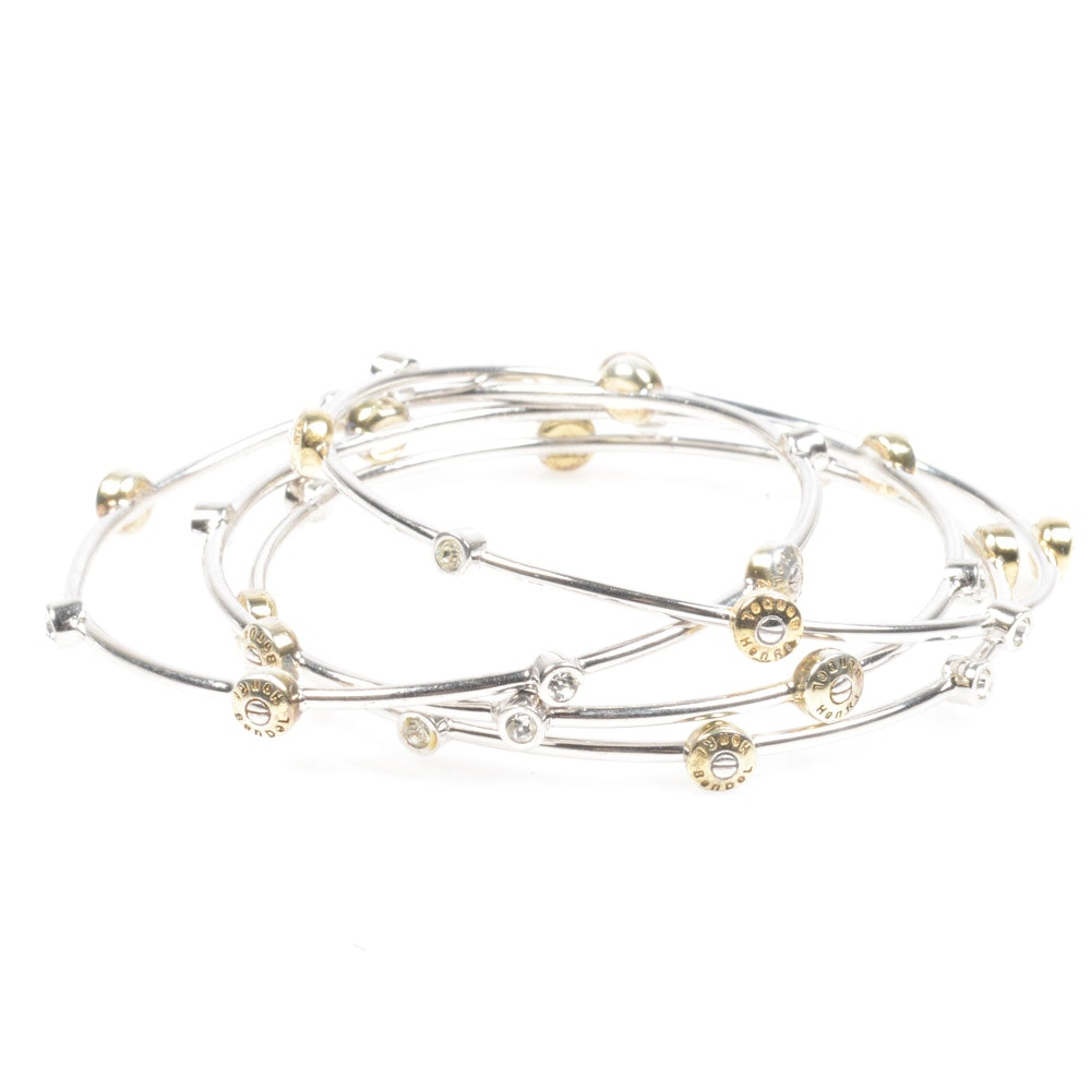 Henri Bendel Bangle Bracelet Set Ebth