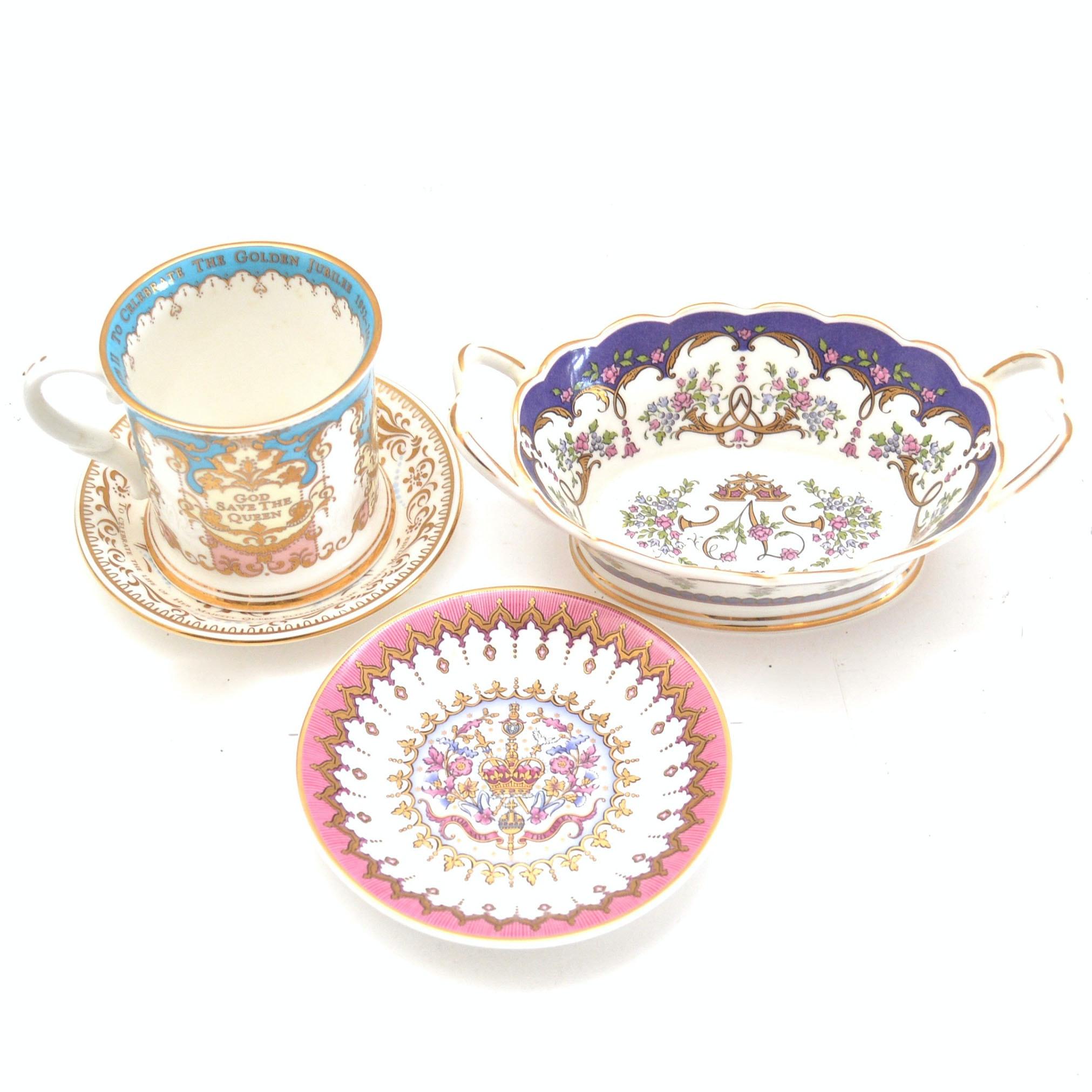 """Royal Collection"" China Assortment"