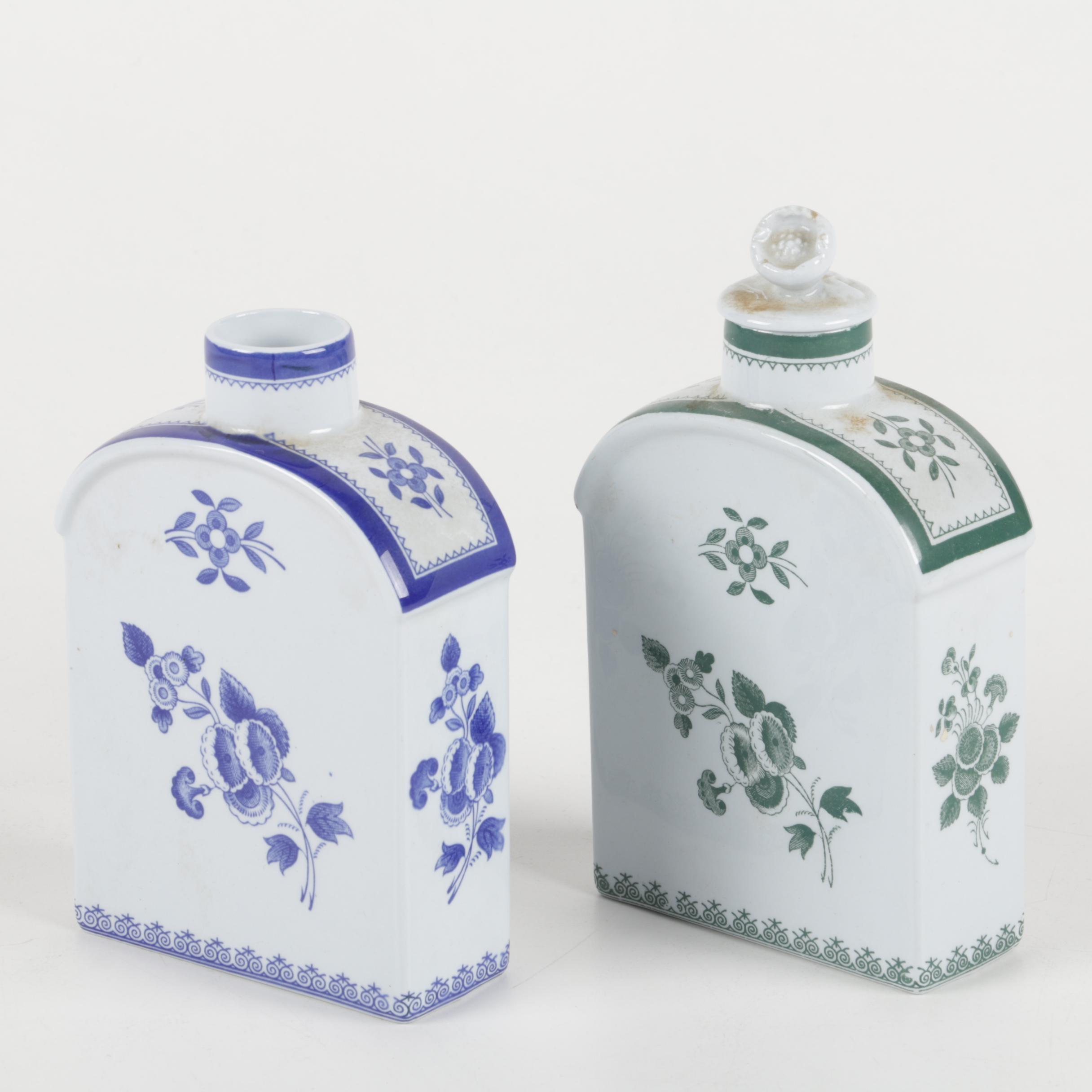 Copeland Spode Porcelain Decanters