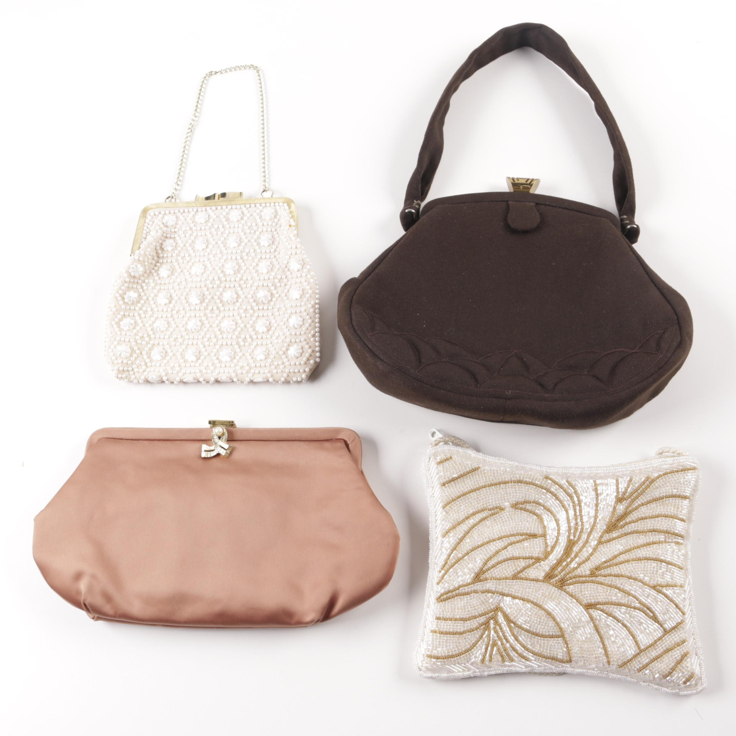 Handbags and Clutches Including Magid