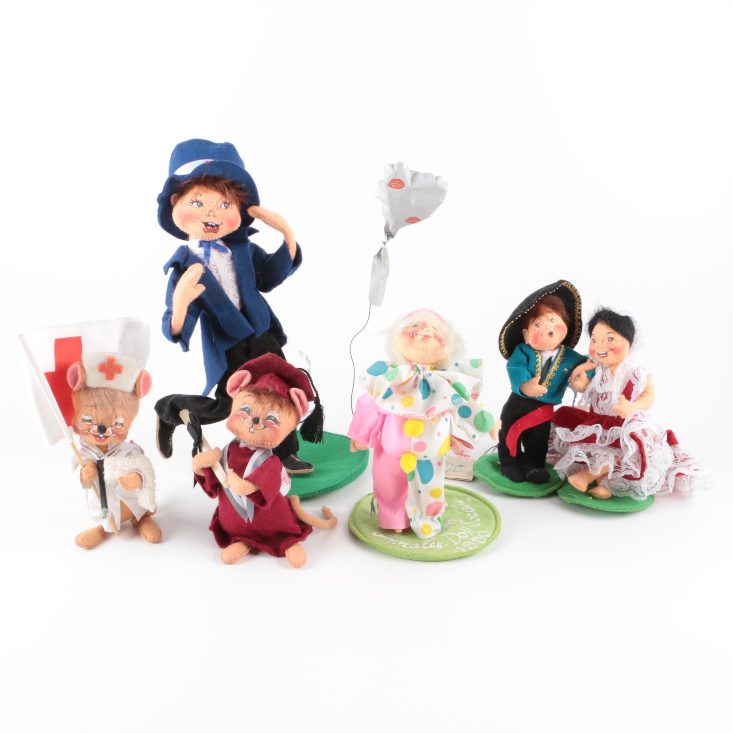 """Vintage Annalee """"Mobilitee"""" Dolls"""
