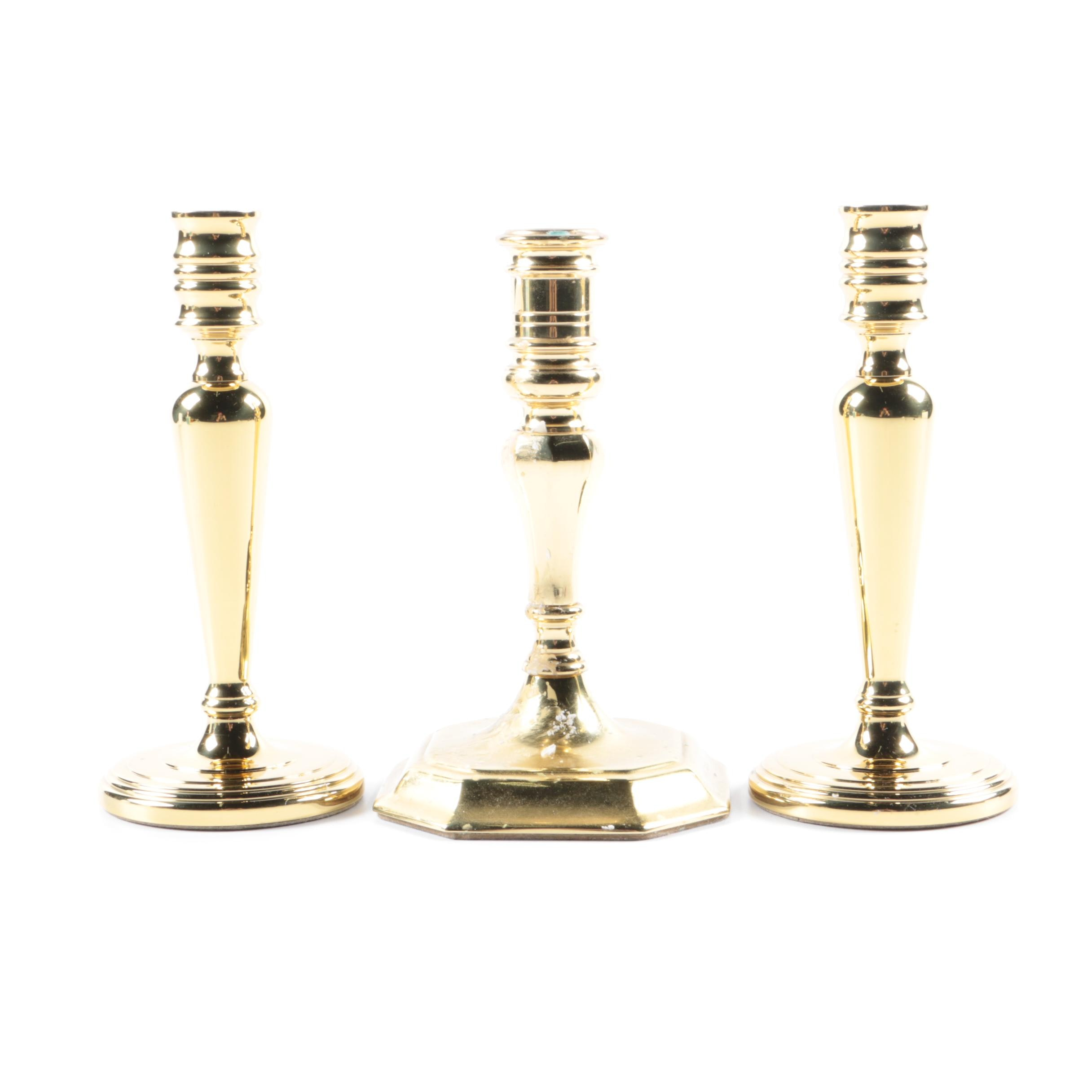Baldwin Brass Candlesticks