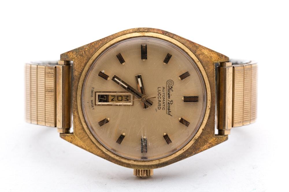 Vintage Luccard by Lucien Piccard INCABLOC Wristwatch