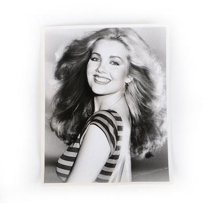 Gelatin-Silver Photograph of Melody Thomas Scott