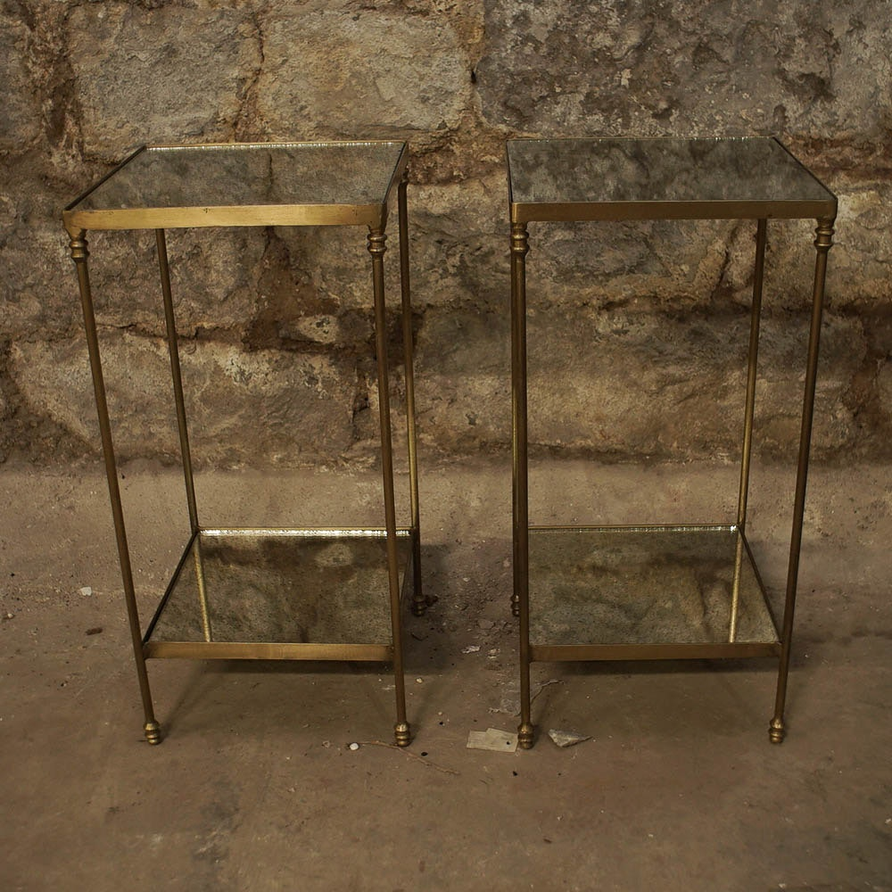 Pair of Regency Style End Tables