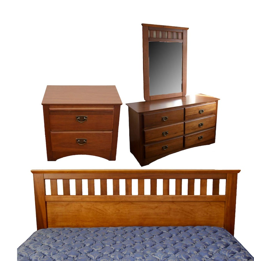 Mission Style Bedroom Set by Florida Furniture Industries : EBTH