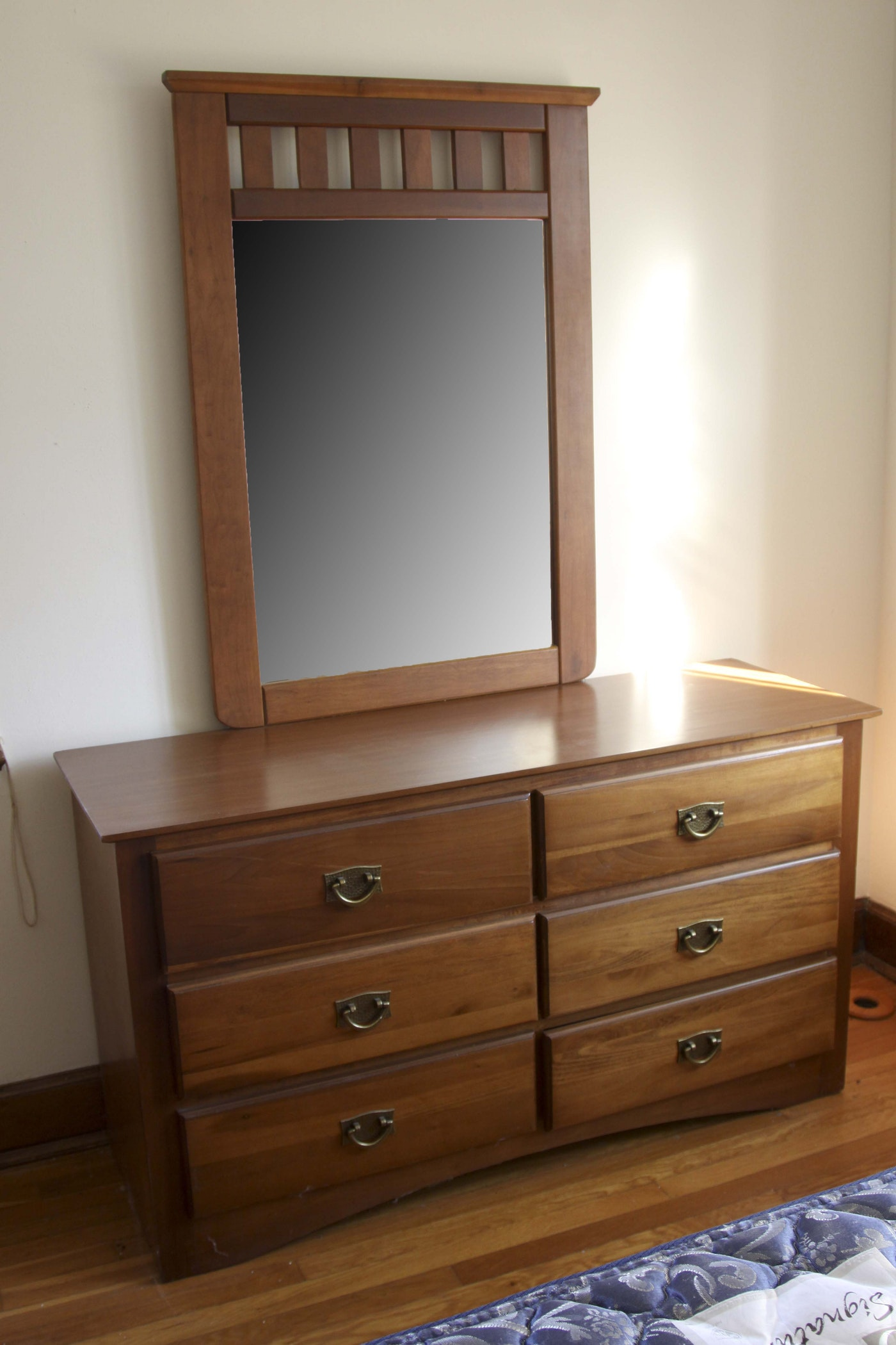 mission style bedroom setflorida furniture industries