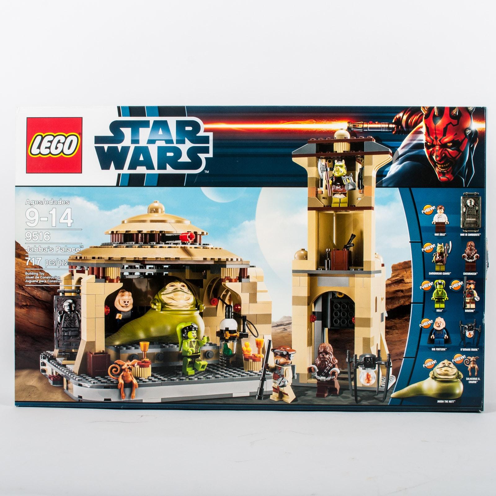 """Star Wars LEGOs """"Jabba's Palace"""""""