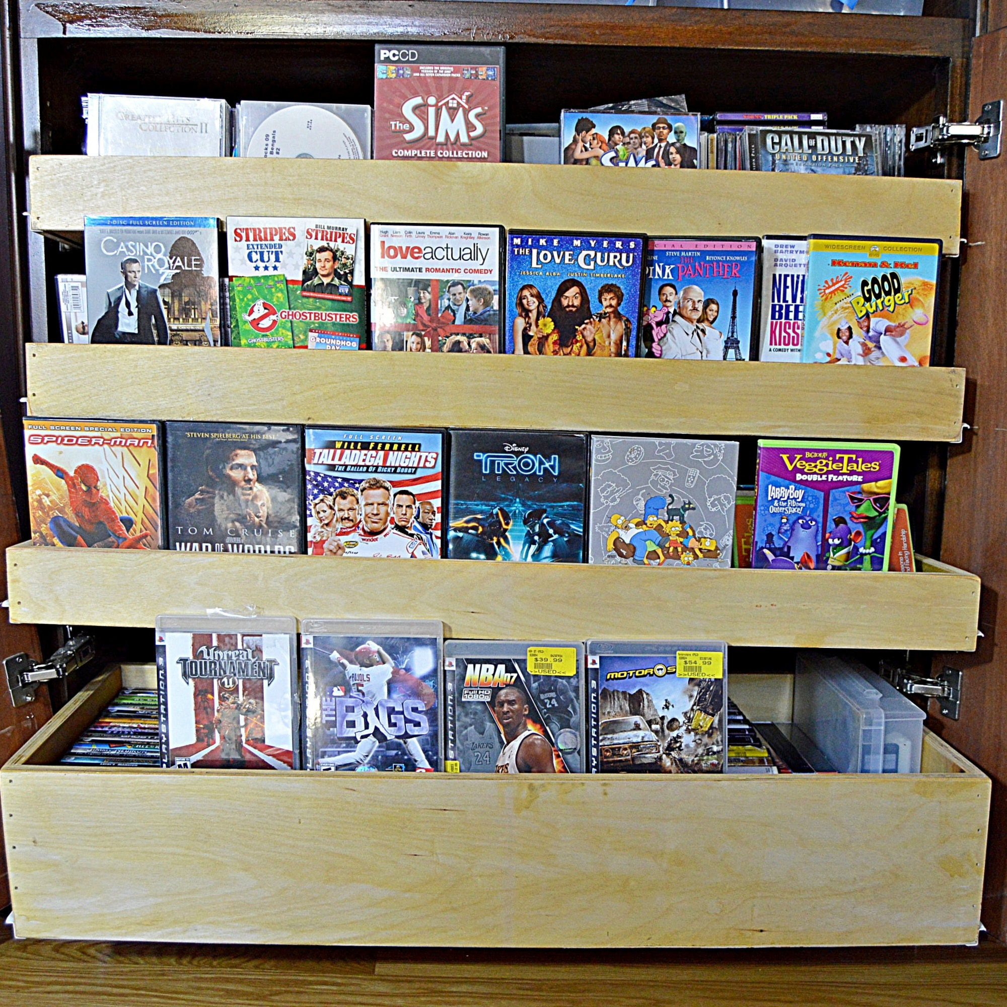 Over 100 Feature Film DVDs, PlayStation Games and CDs