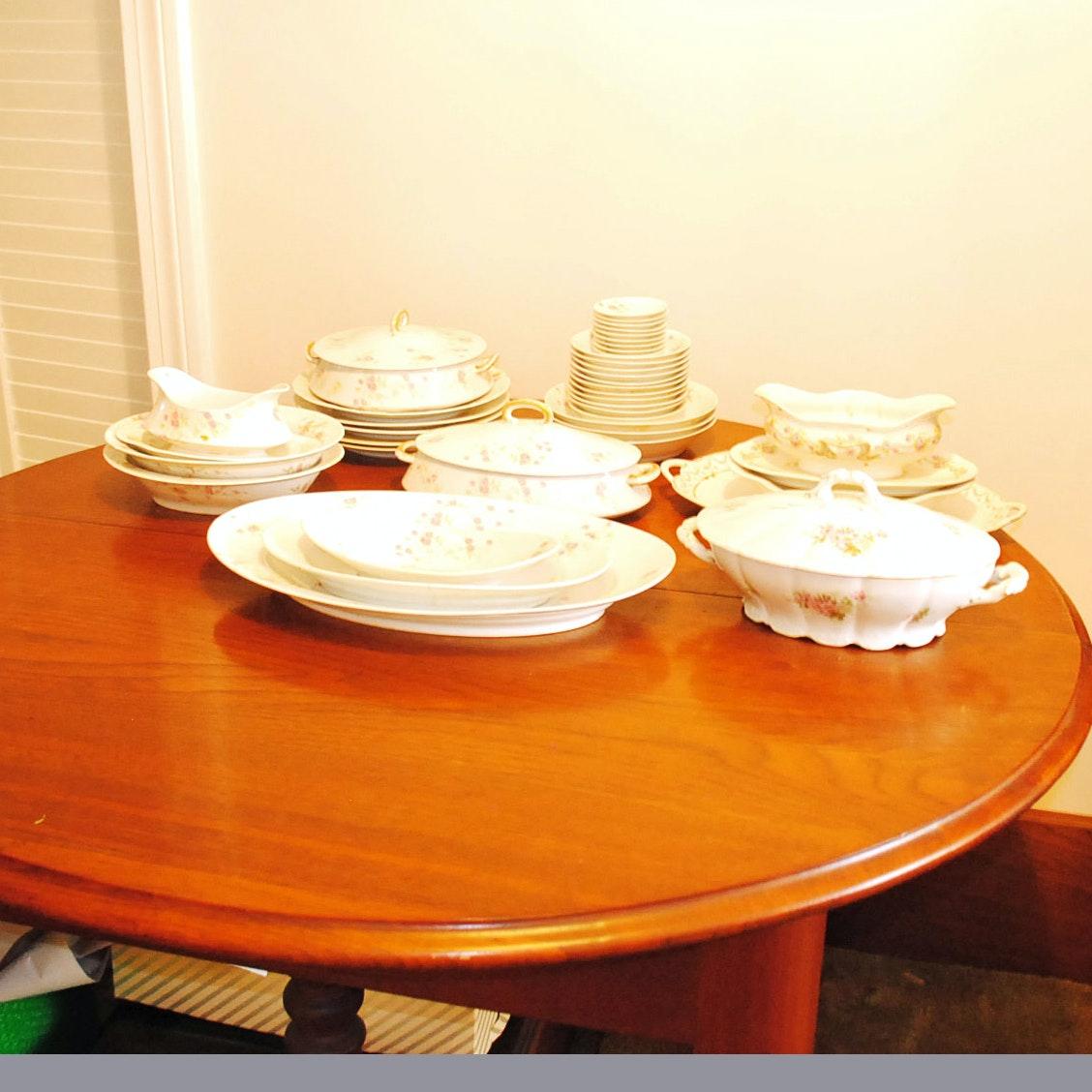 Vintage Limoges Porcelain Tableware