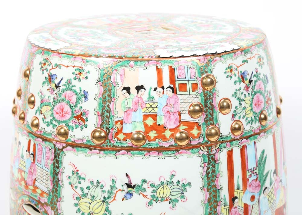 Antique Chinese Garden Stool