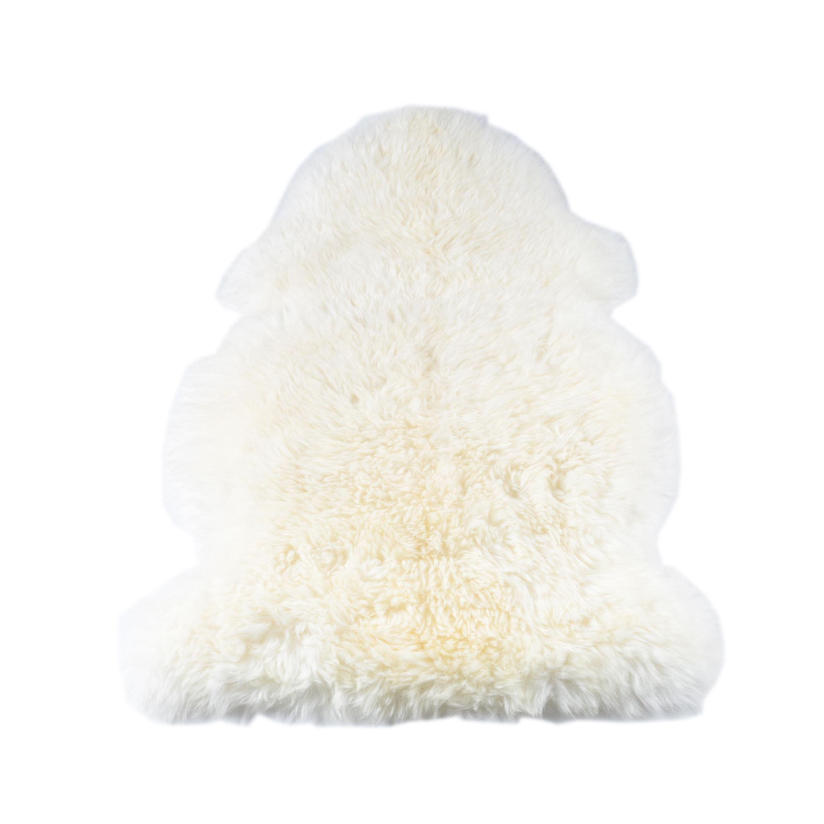 Natural Cut New Zealand Sheepskin Accent Rug