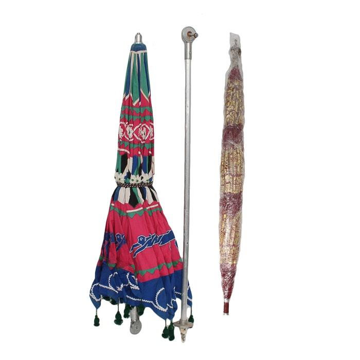 South Asian Style Patio Umbrellas