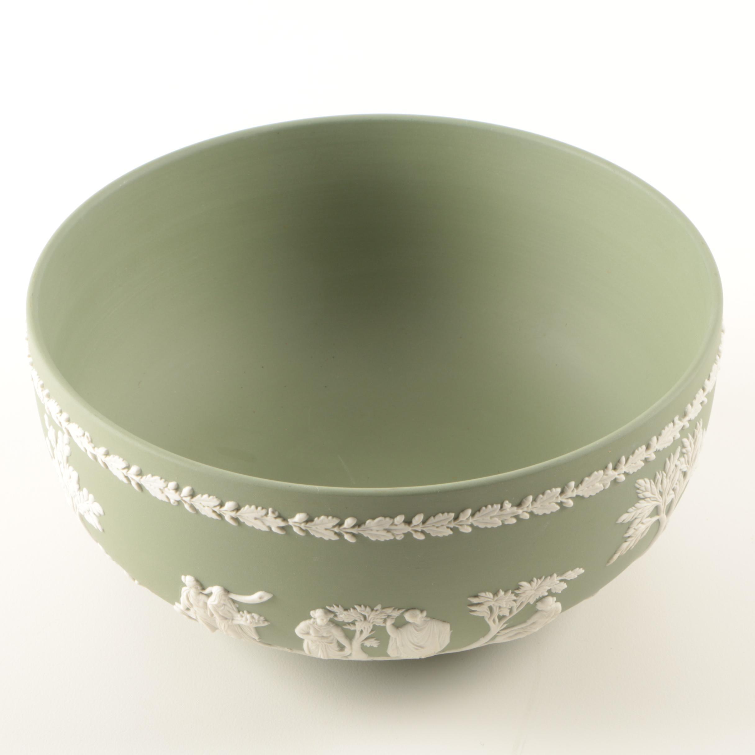 "Jasperware Bowl in the style of Wedgwood ""Sacrifice"""