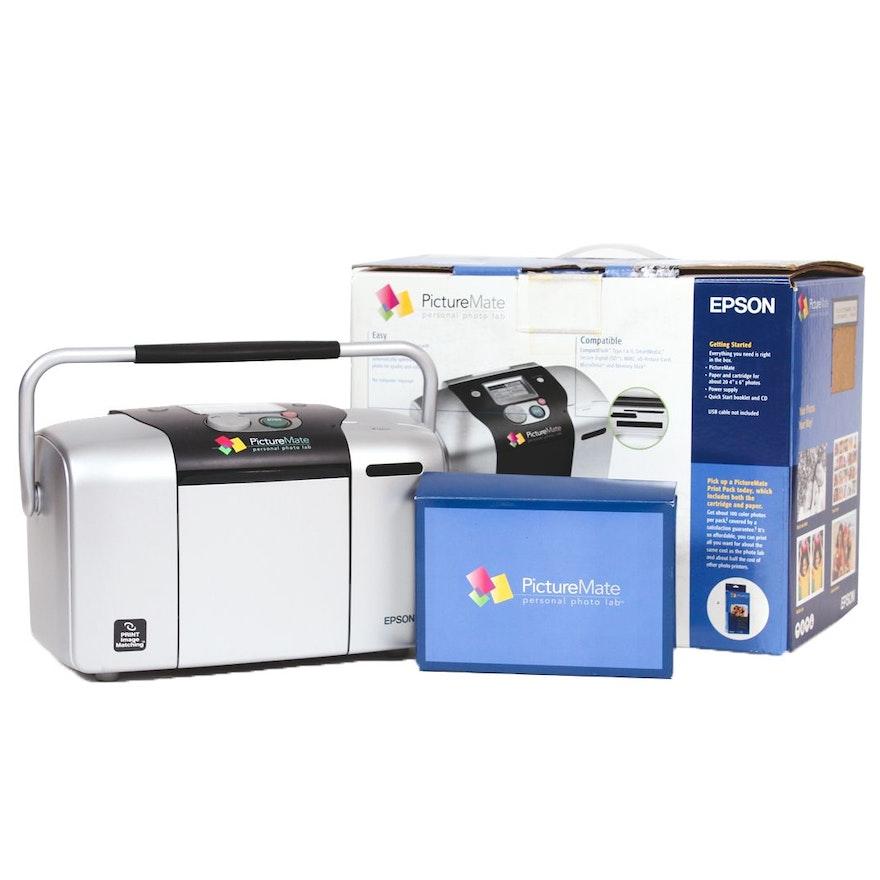 Epson Picturemate Personal Photo Lab Printer Ebth