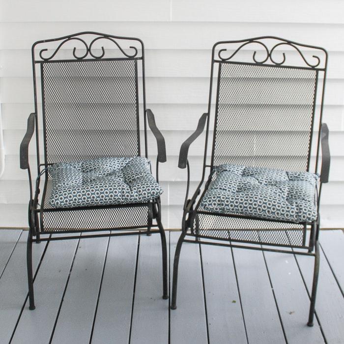 Metal Patio Chairs