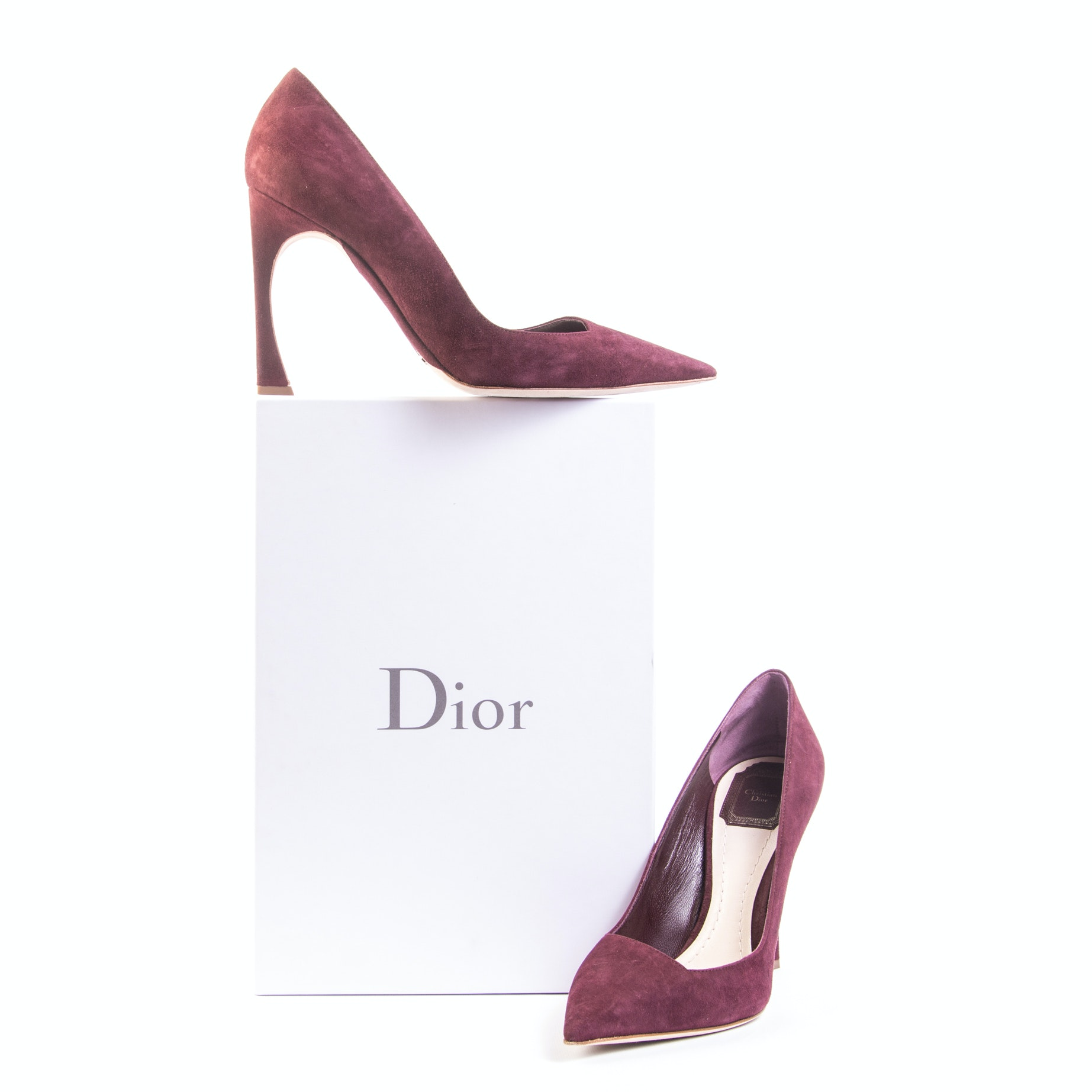 Christian Dior Songe Suede Pumps