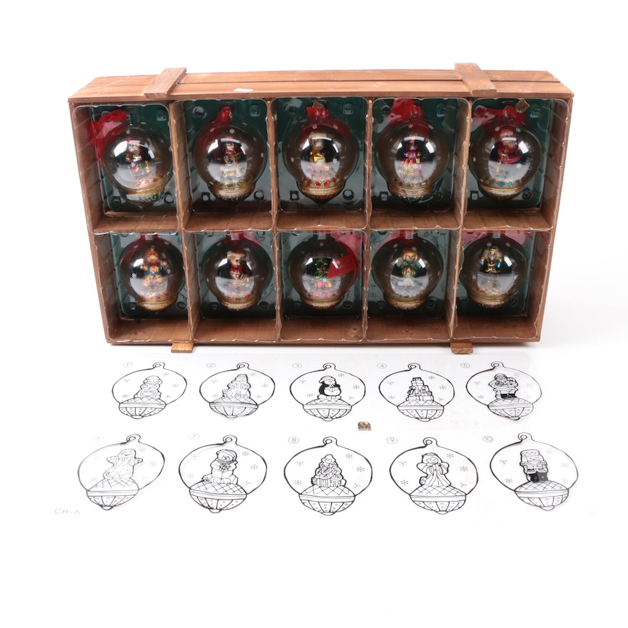 Collection of Thomas Pacconi Classics Christmas Ornaments ... - Collection Of Thomas Pacconi Classics Christmas Ornaments : EBTH