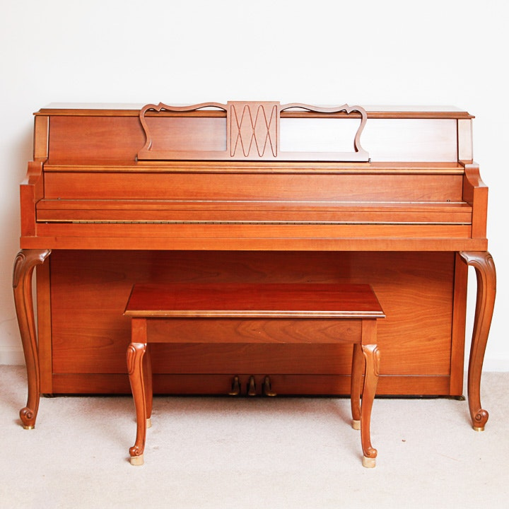 Vintage Hobart M. Cable Spinet Piano