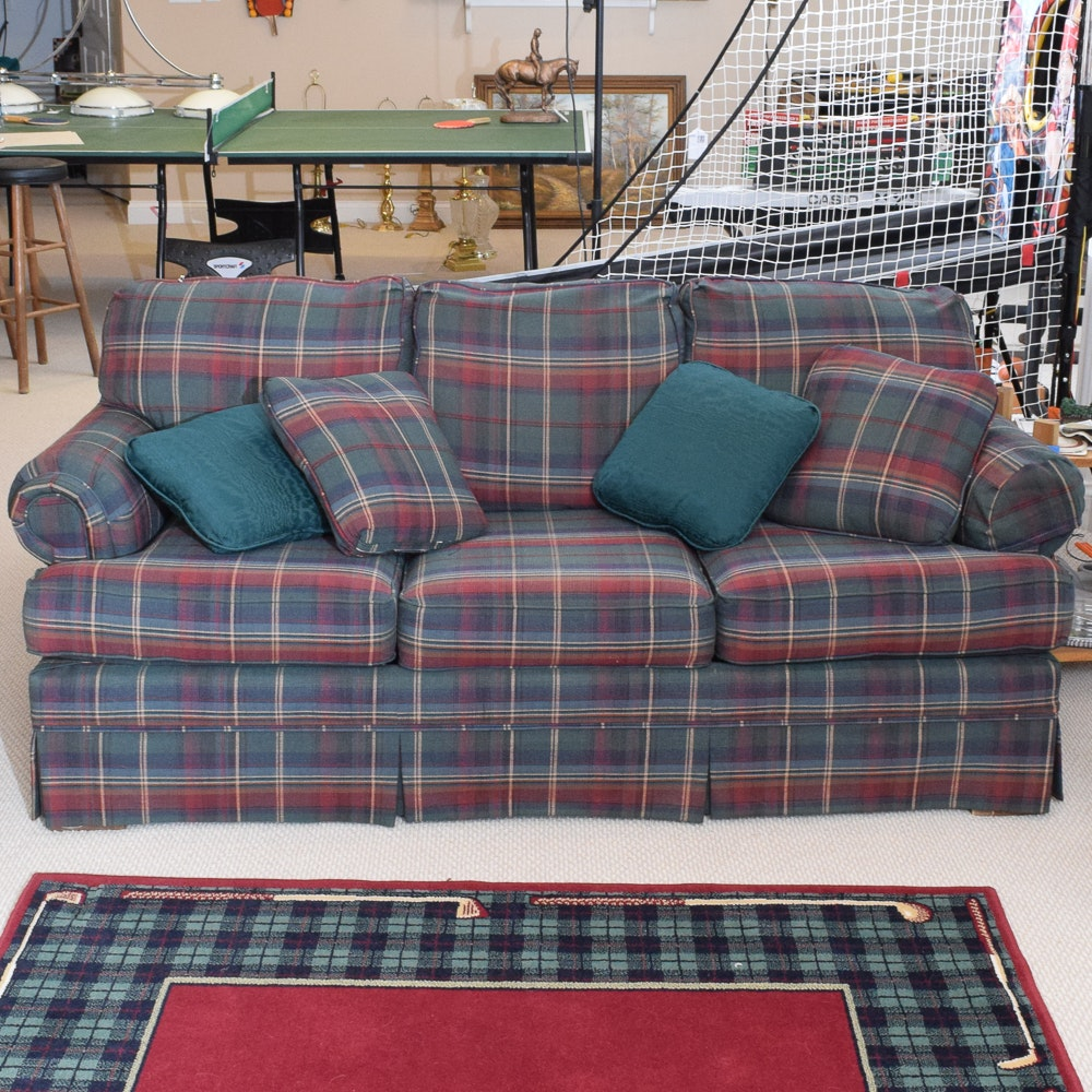 Vintage Upholstered Sleeper Sofa