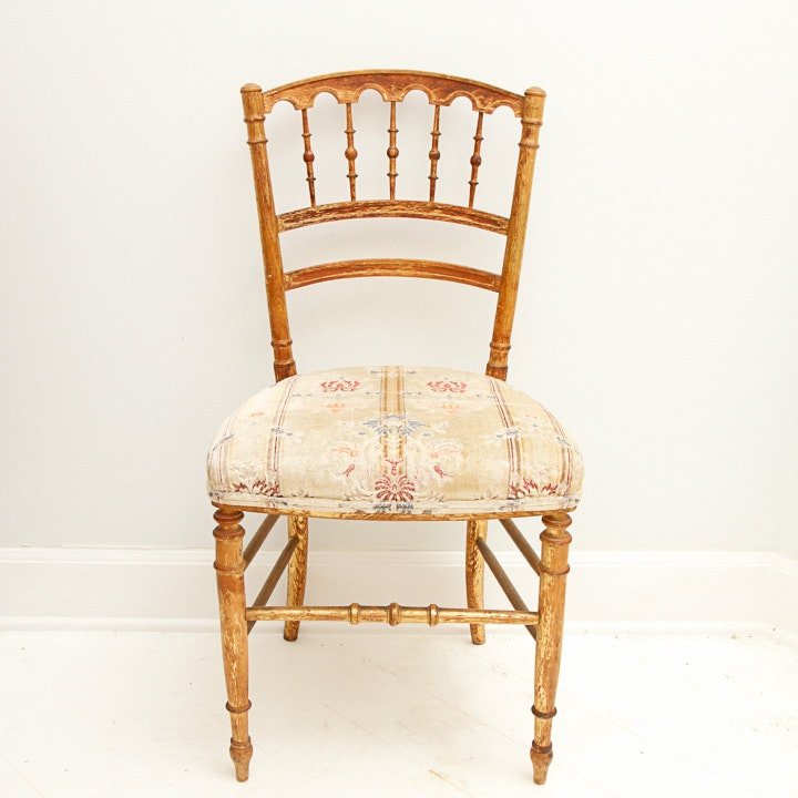 Vintage Sheraton Style Side Chair