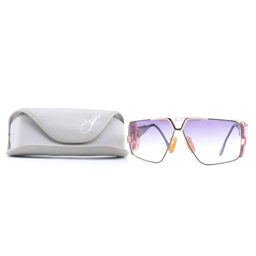 fc1cdcea2e34 Cazal 951 Sunglasses with Case   EBTH