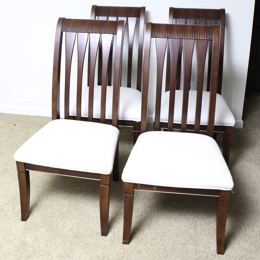 Contemporary Slat Back Chairs
