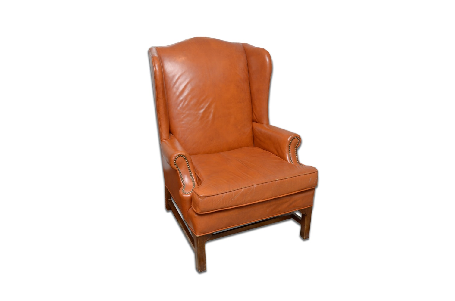 Chippendale Style Wingback Chair by Fairfield