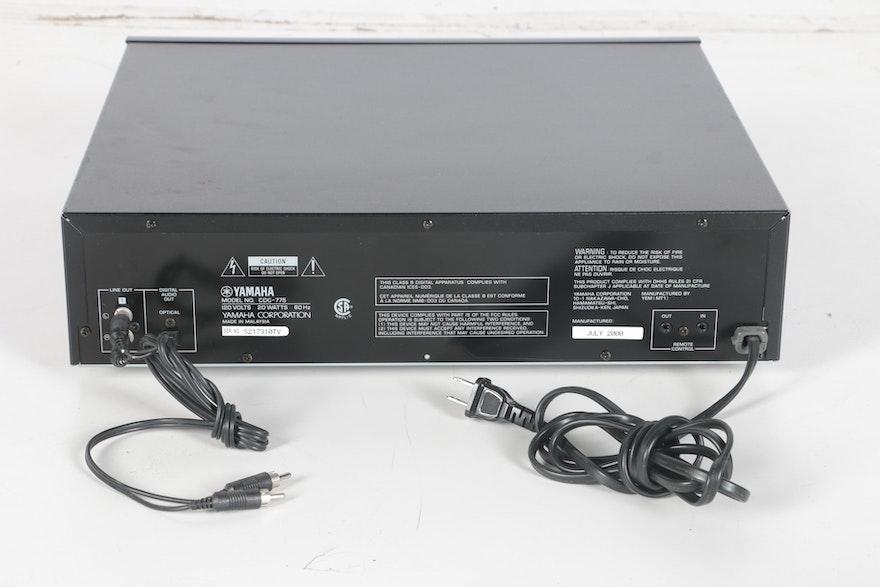 Yamaha Cd Smanual