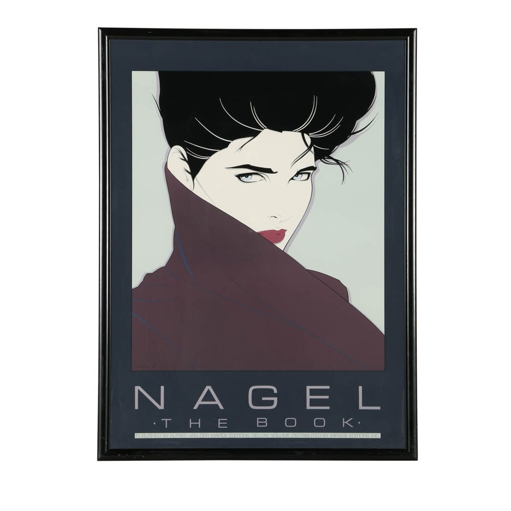 "Serigraph After Patrick Nagel ""Nagel The Book"""