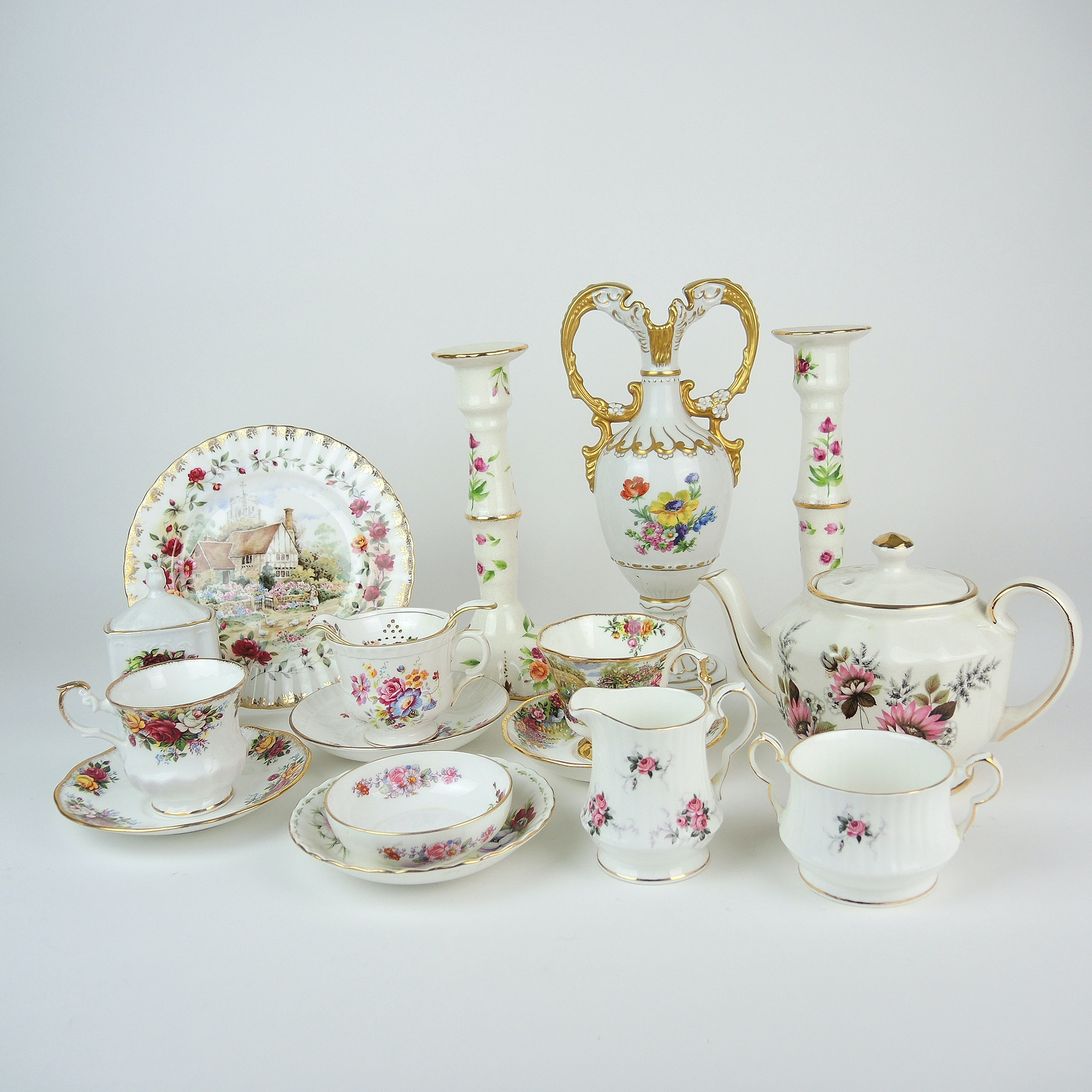 Porcelain Tableware and China Featuring Royal Dux