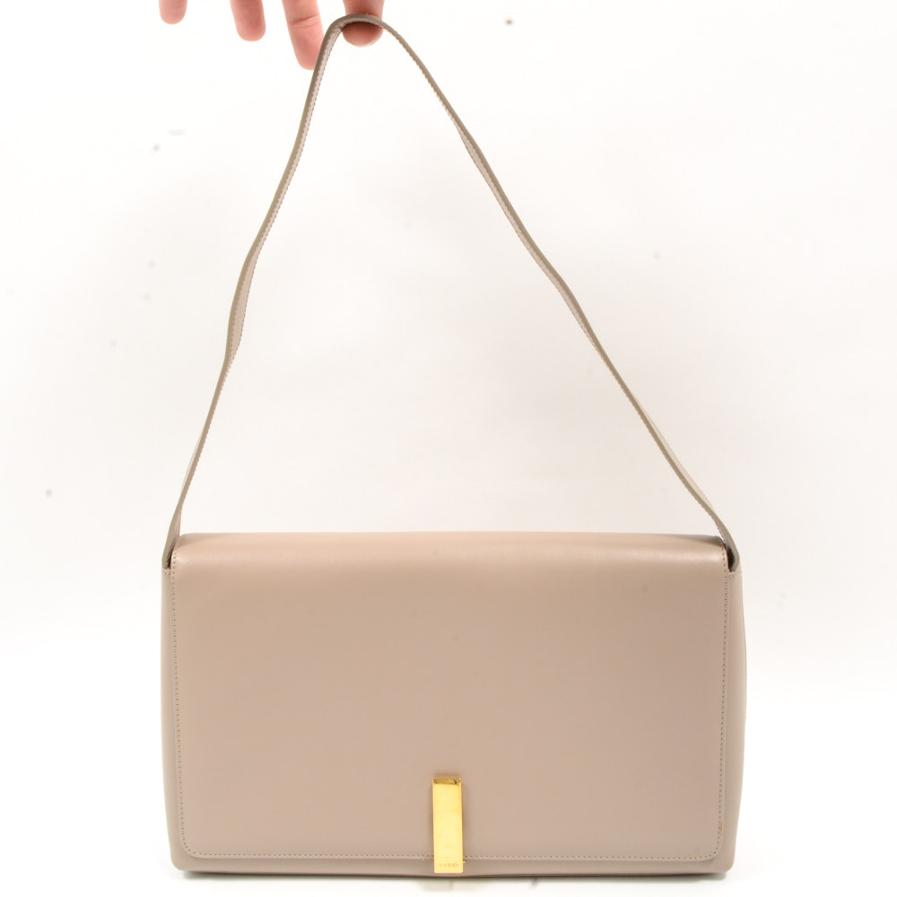 UNLISTABLE Gucci Leather Handbag
