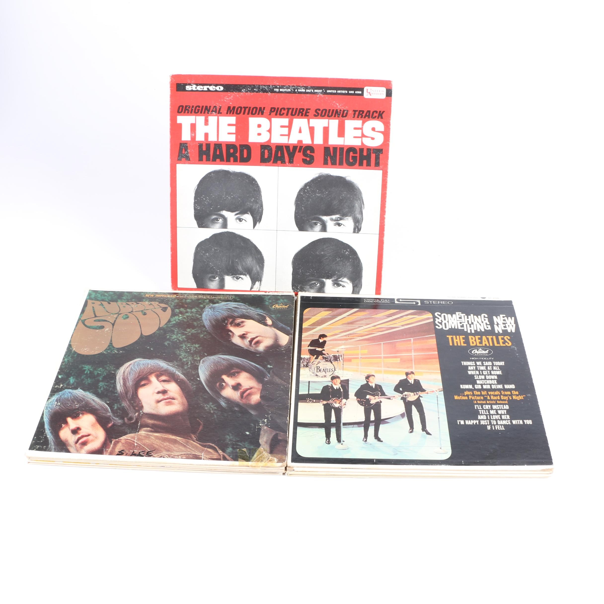 """""""Magical Mystery Tour"""" and Other 12"""" 45 RPM Beatles Vinyls"""
