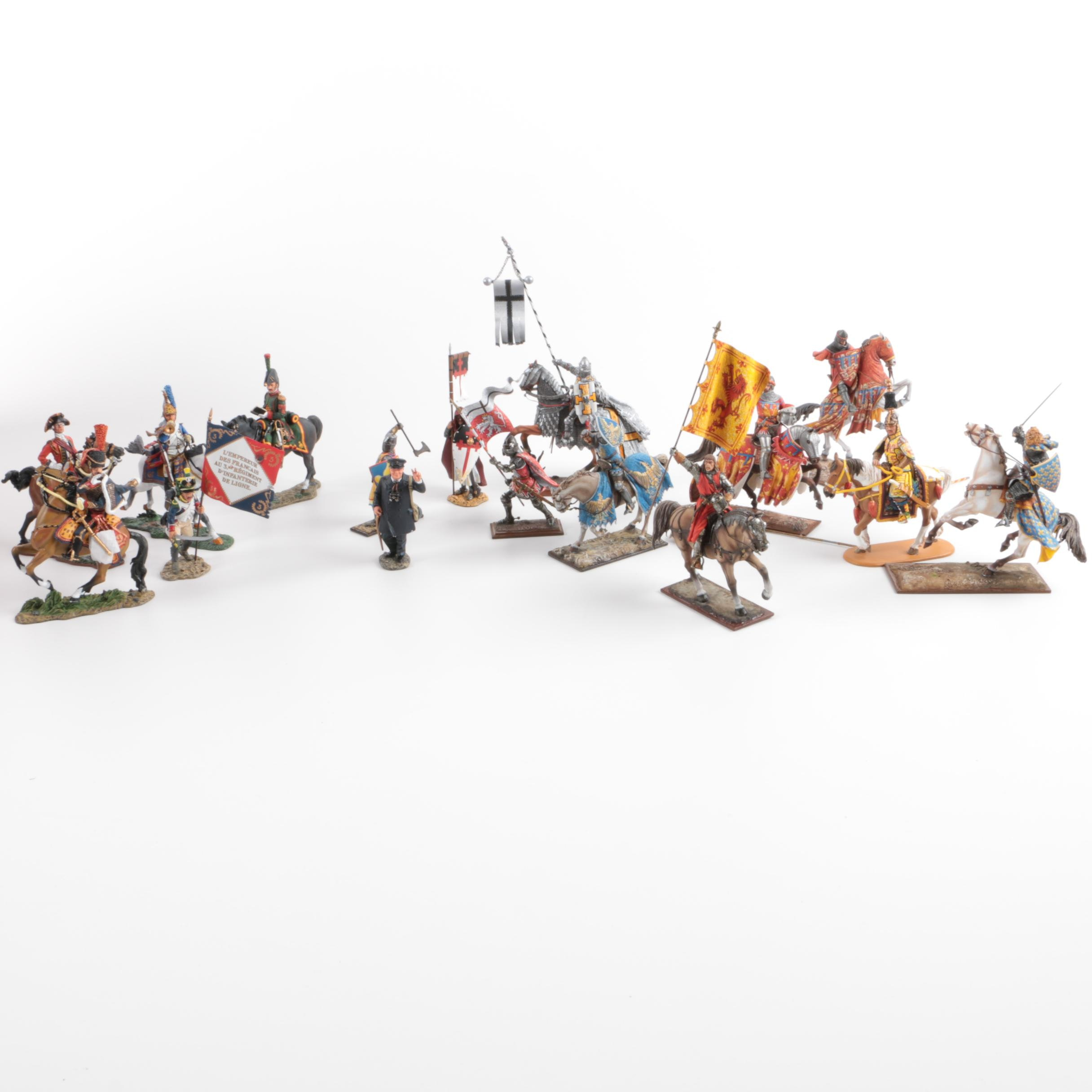 Collection of Military Figurines