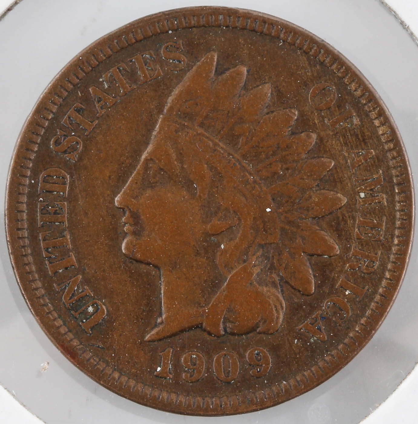Rare Key Date 1909 S Indian Head Cent