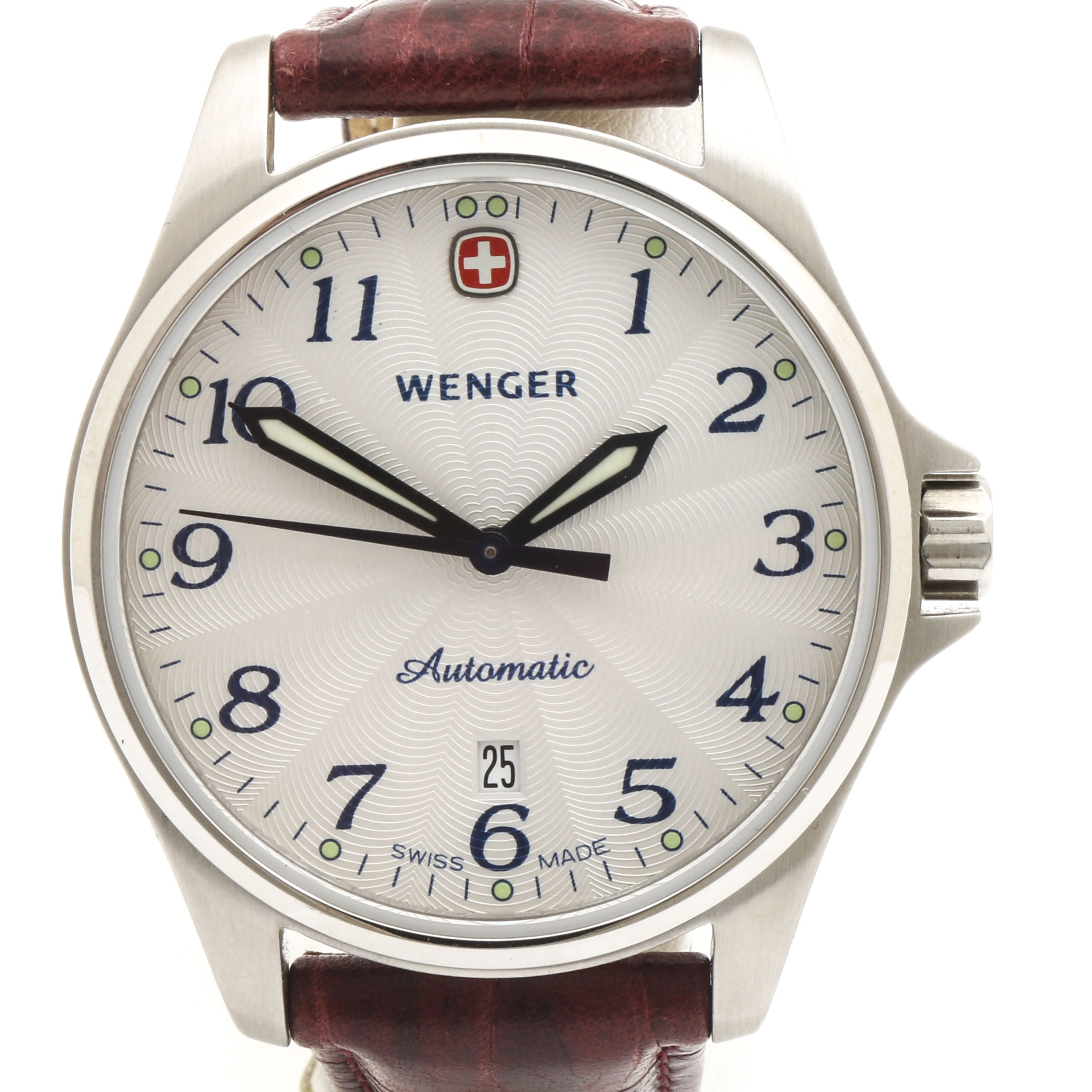 Wenger Automatic Stainless Steel Wristwatch