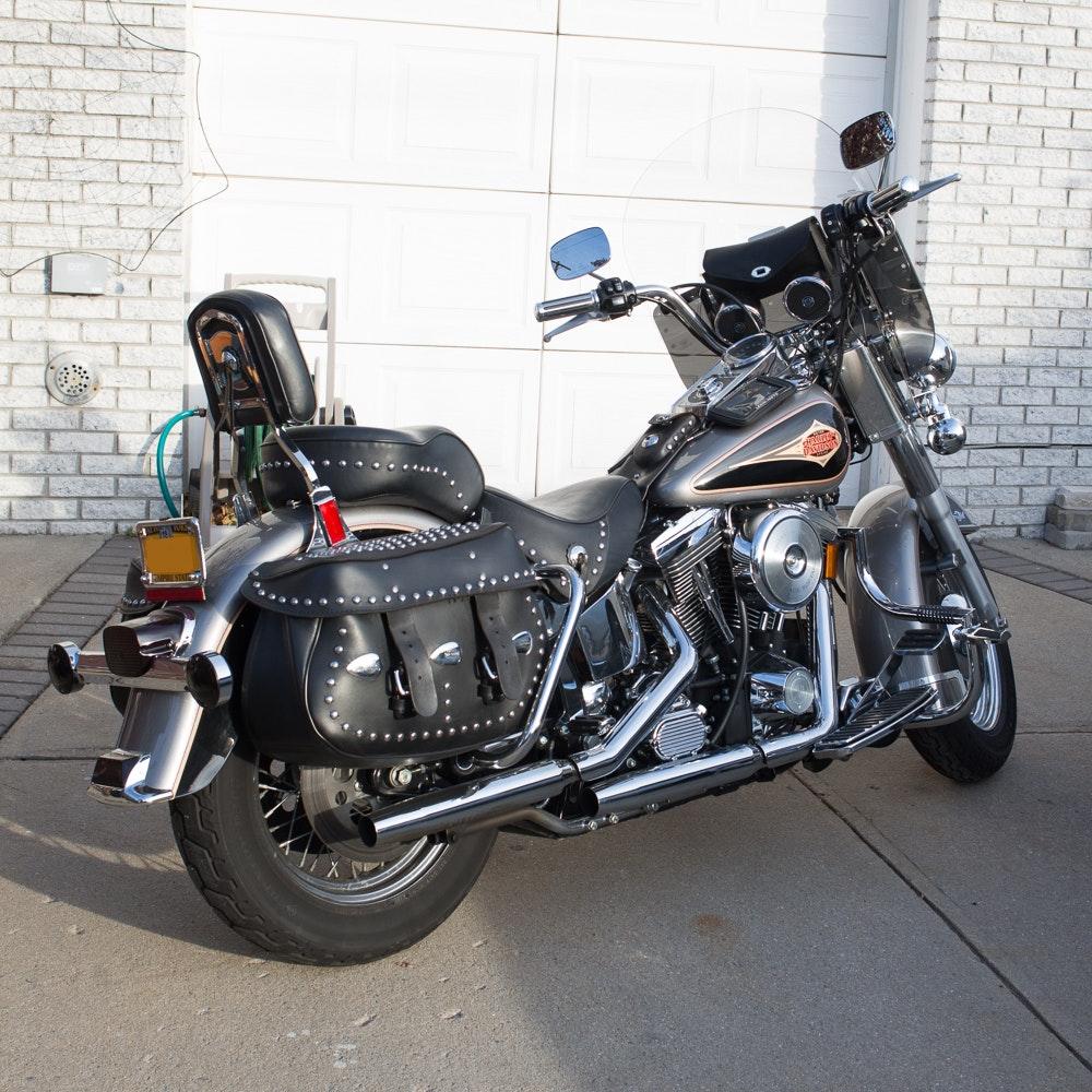 1997 Harley Davidson Heritage Softail Motorcycle