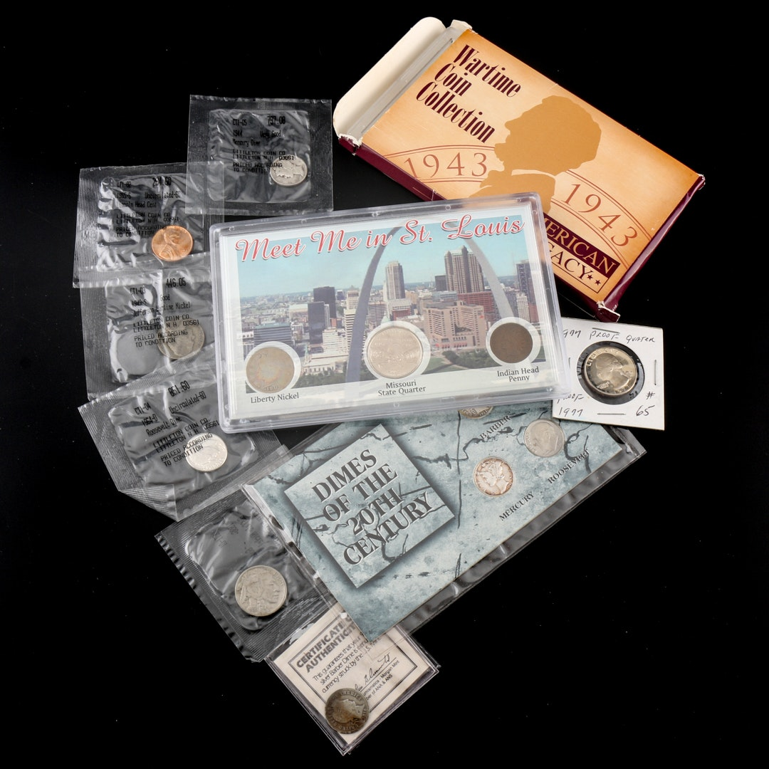 Collection of Vintage American Coin