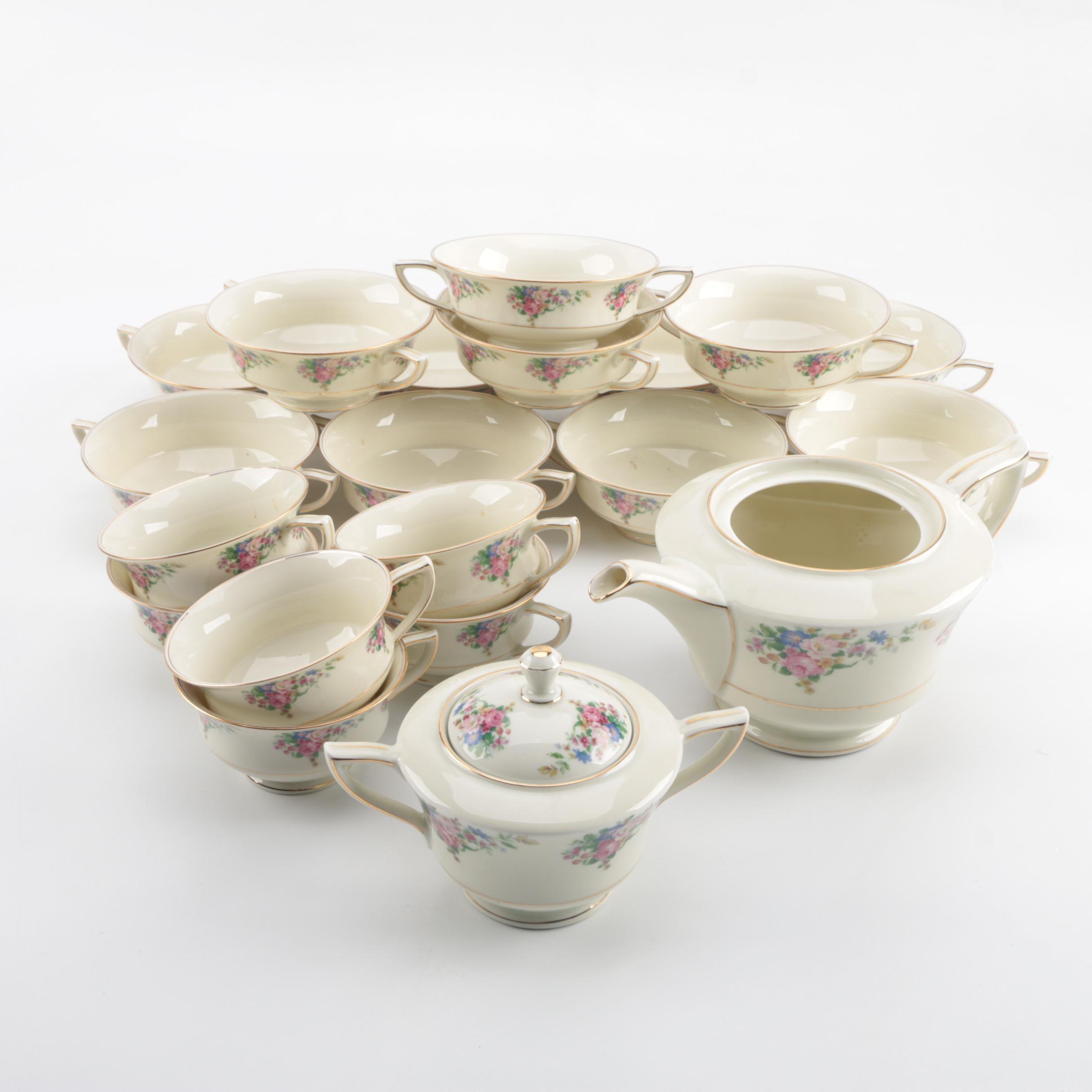 """Royal Ivory """"Madeline"""" Porcelain Tableware"""