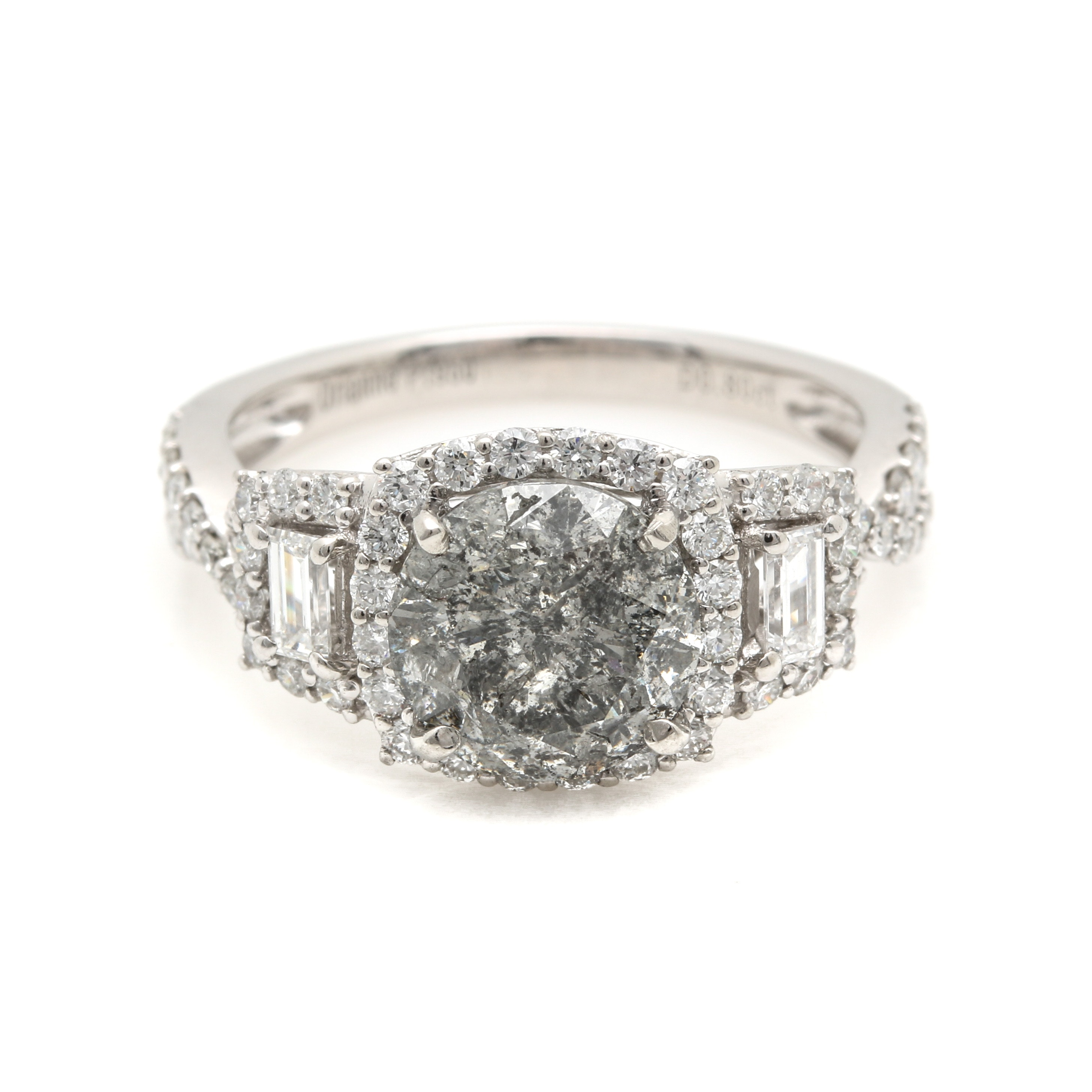 Platinum 2.93 CTW Diamond Ring