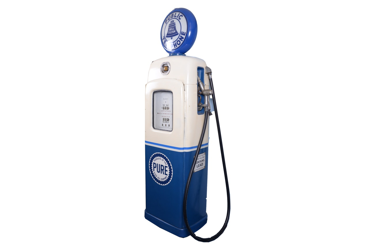 Pure Oil Company Reproduction Gas Pump