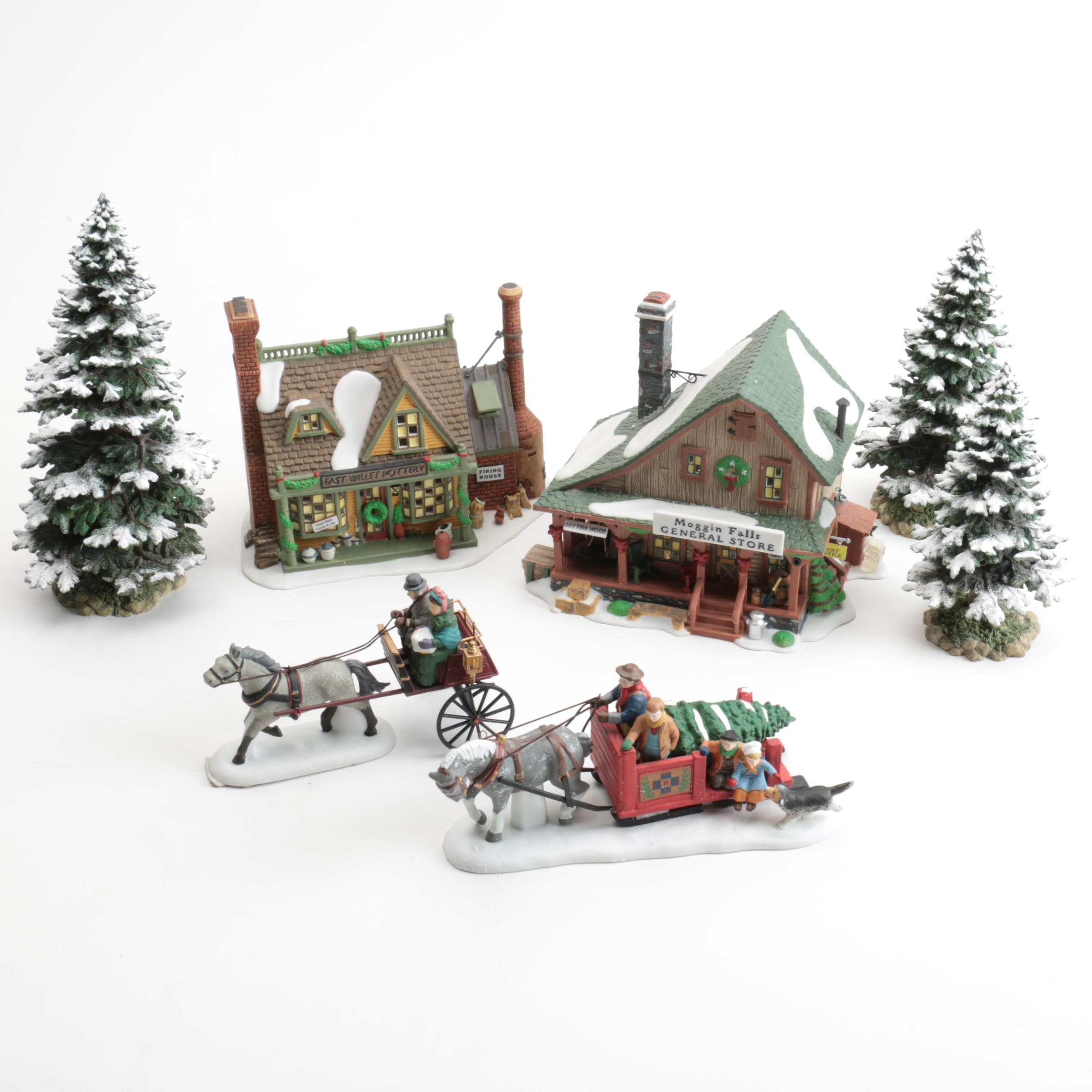"Department 56 ""New England Village"" Decor Buildings"