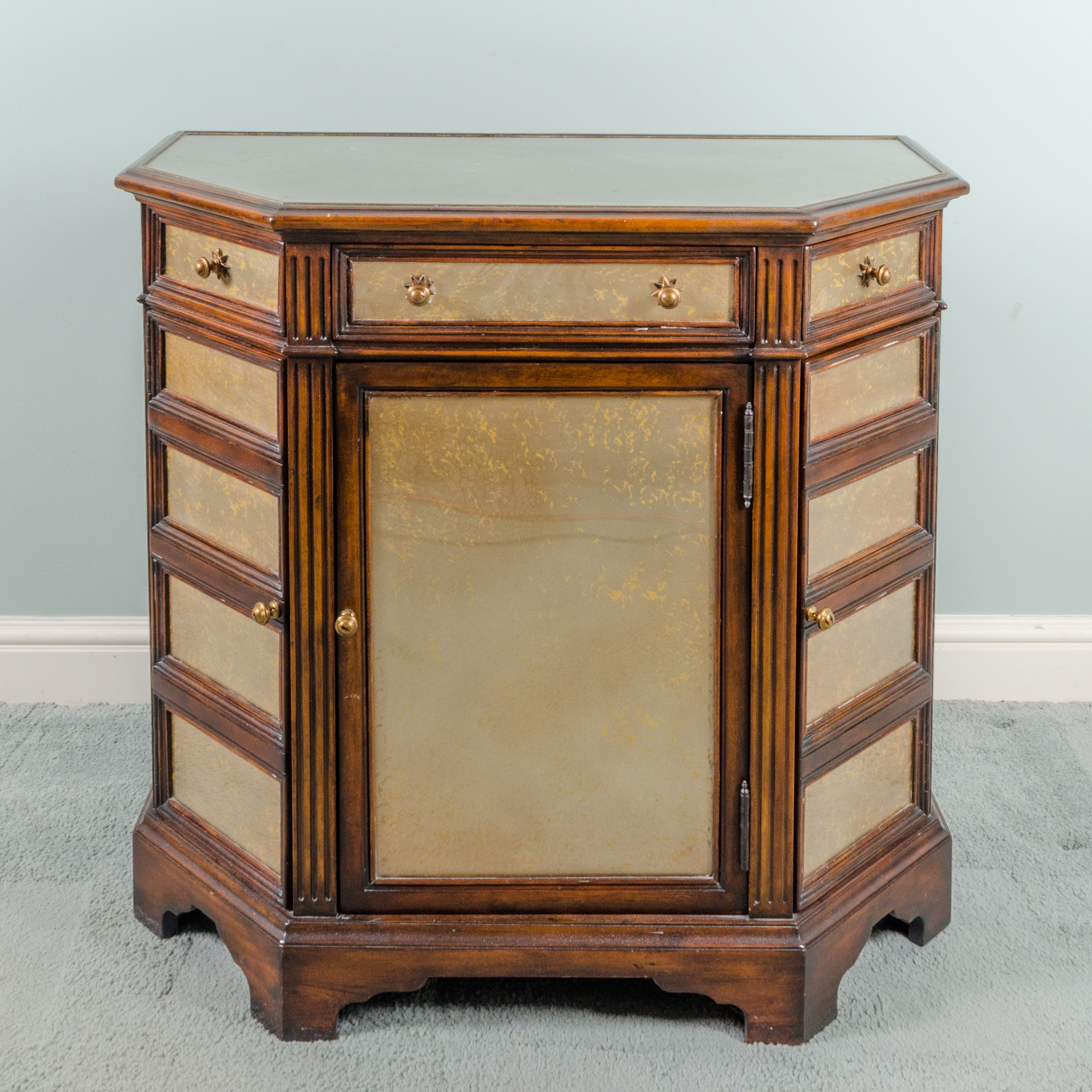 Tri Front Cabinet By Theodore Alexander
