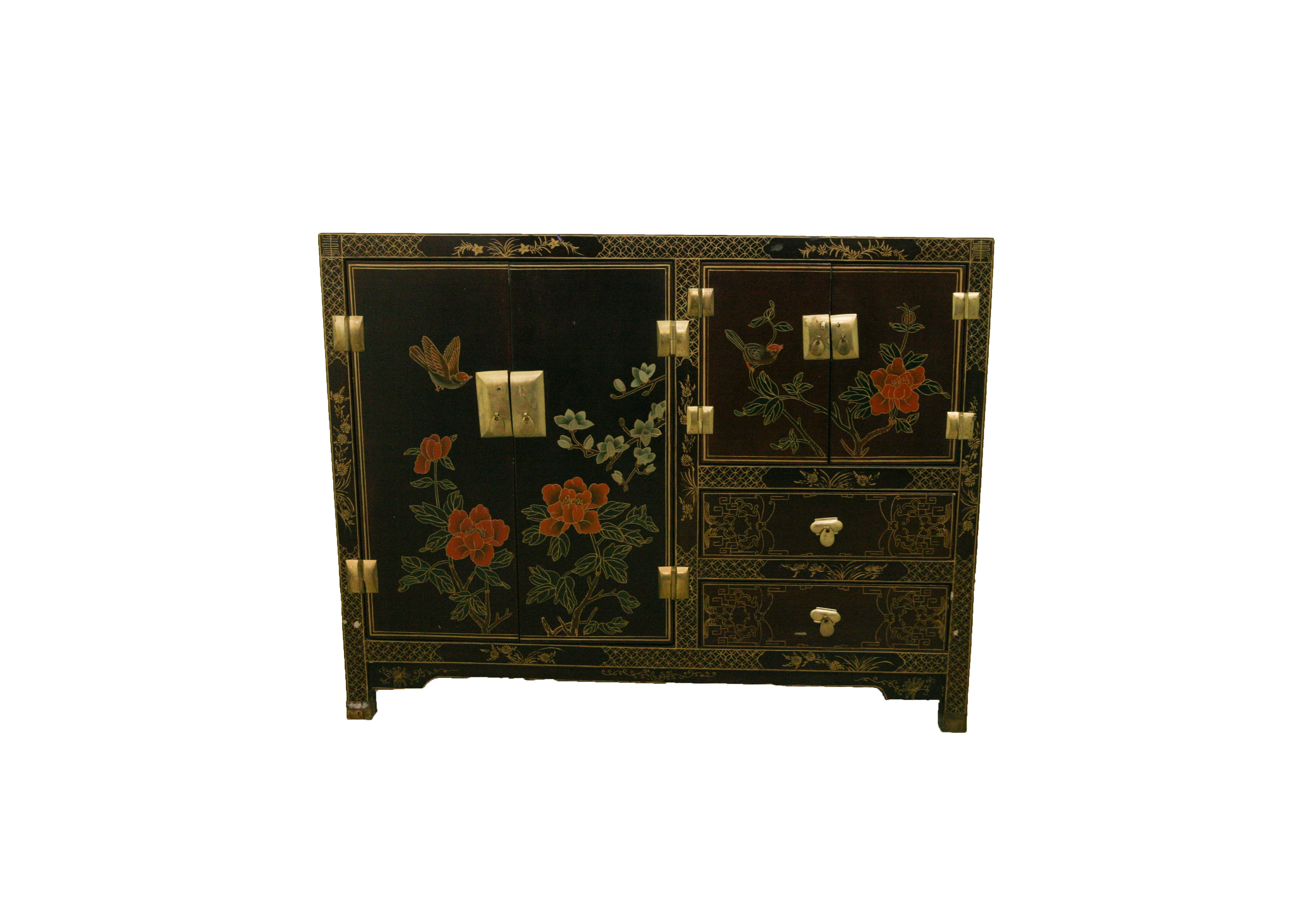 Vintage Chinoiserie Cabinet