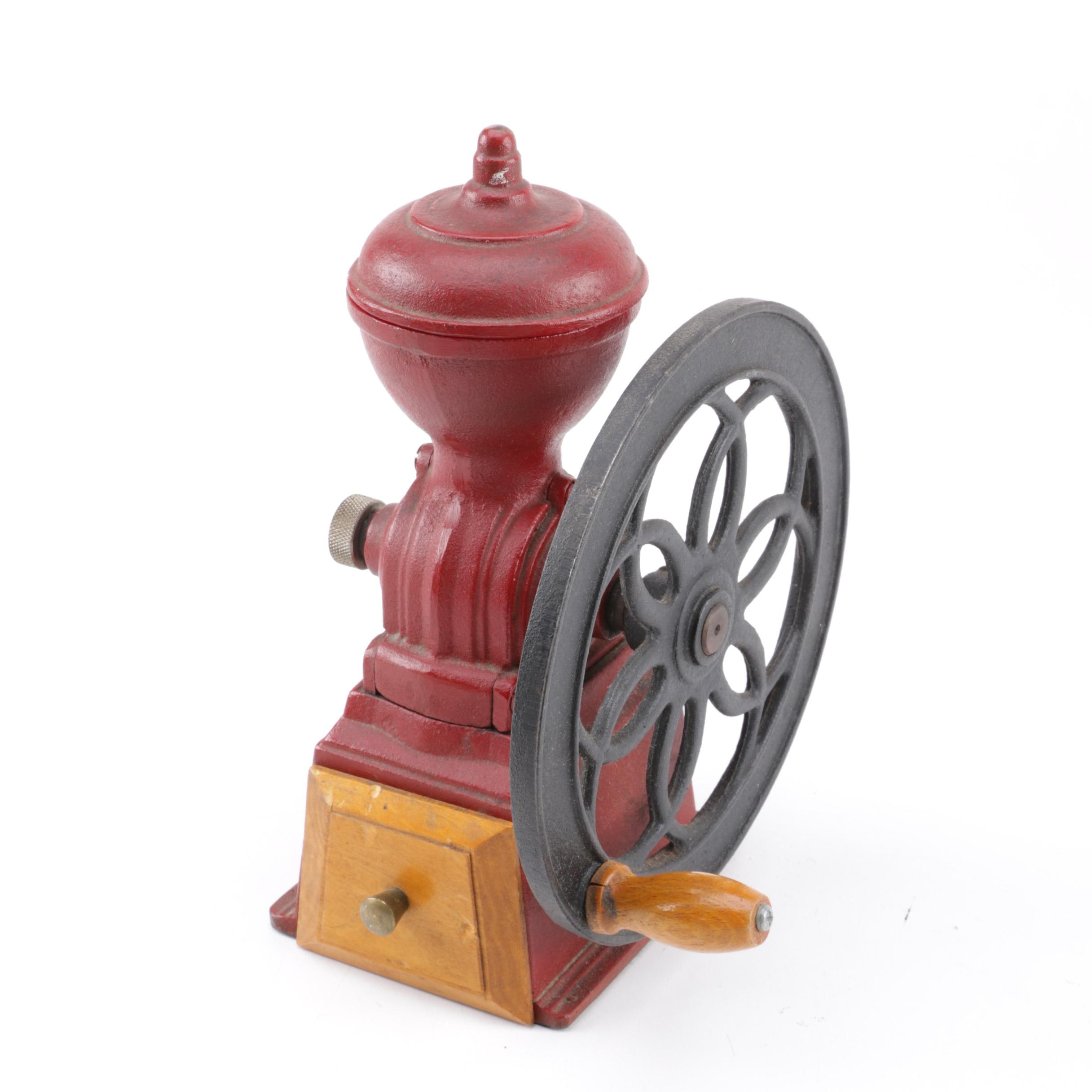 Vintage Cast Iron Coffee Grinder