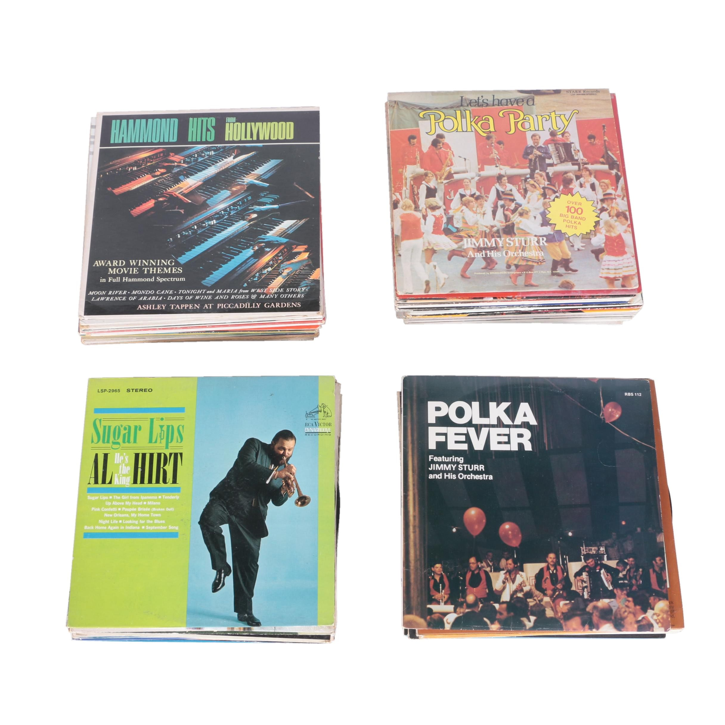 """Tchaikovsky, Kenny Rogers and Other 12"""" 33 RPM Records"""