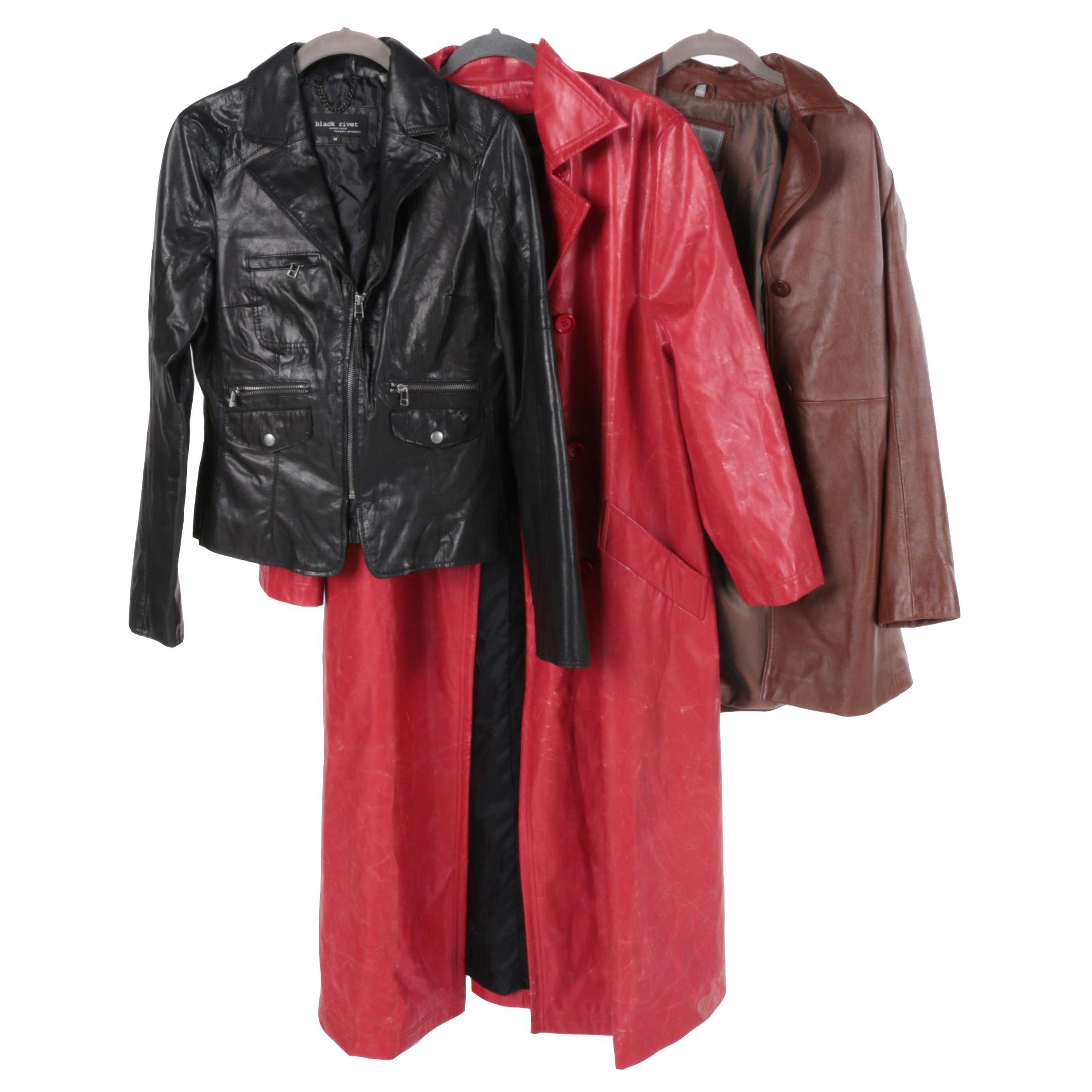 Women's Leather Jackets and Coats Including Harve Benard by Bernard Holtzman