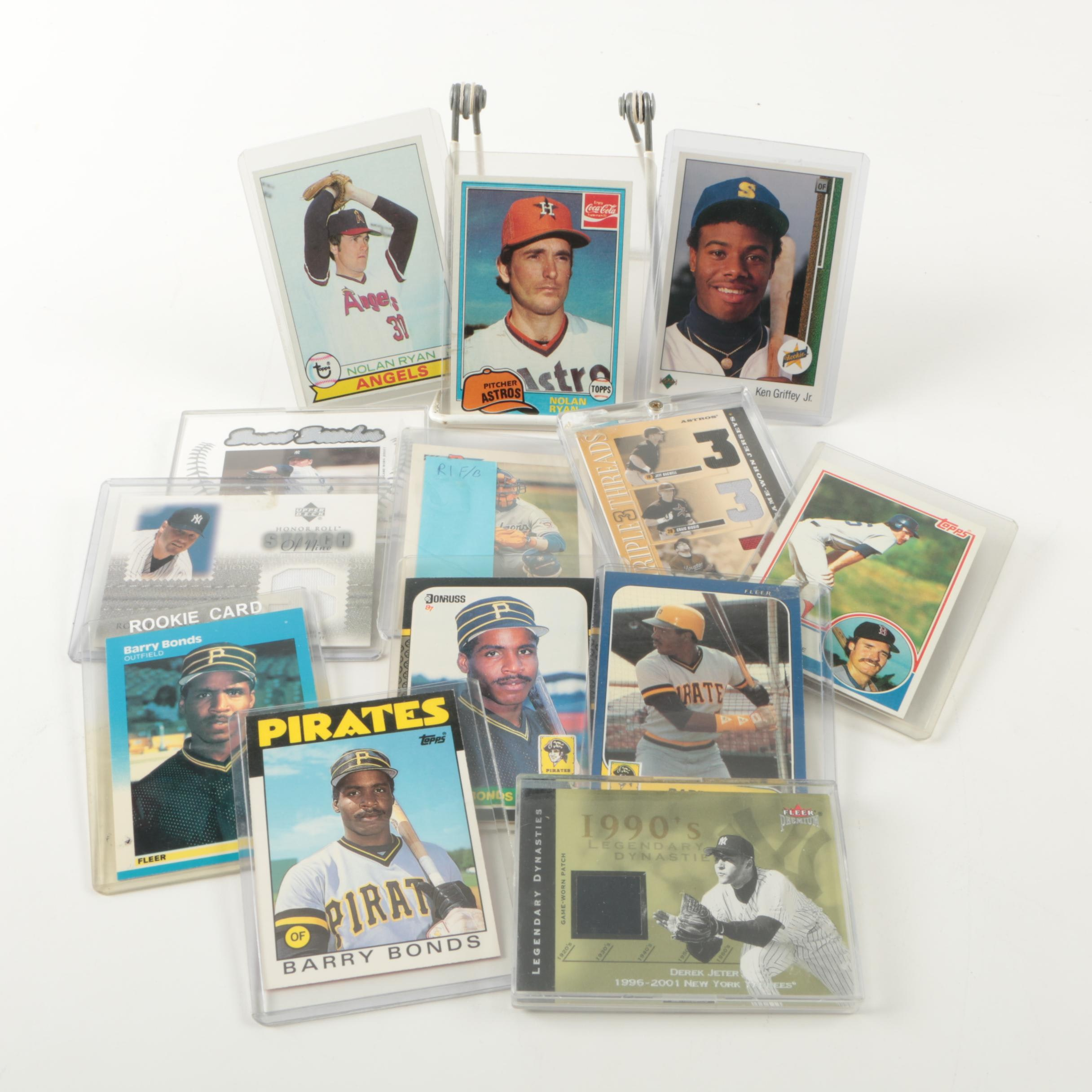 Baseball Trading Cards Including Ken Griffey Jr. Rookie Card